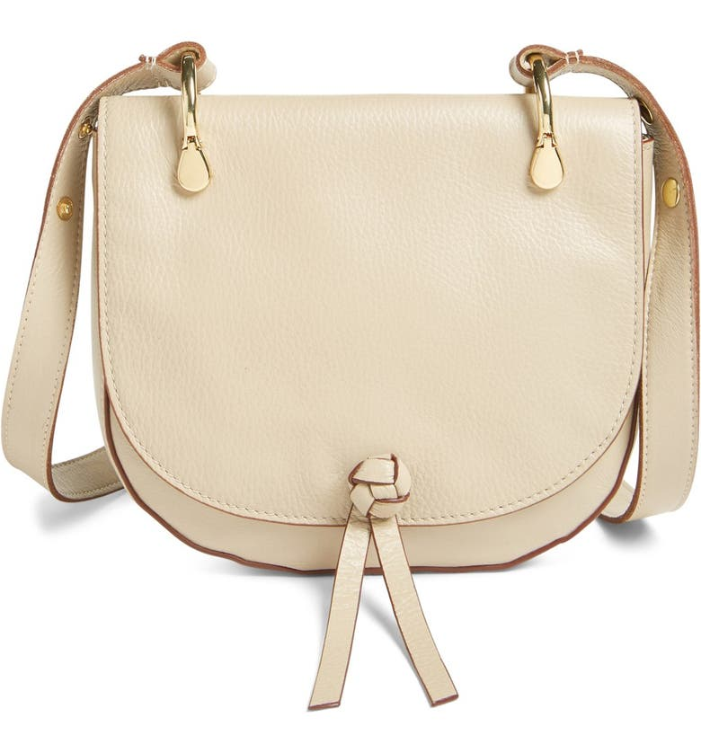 21dfe63633 Elizabeth and James  Zoe  Leather Saddle Bag