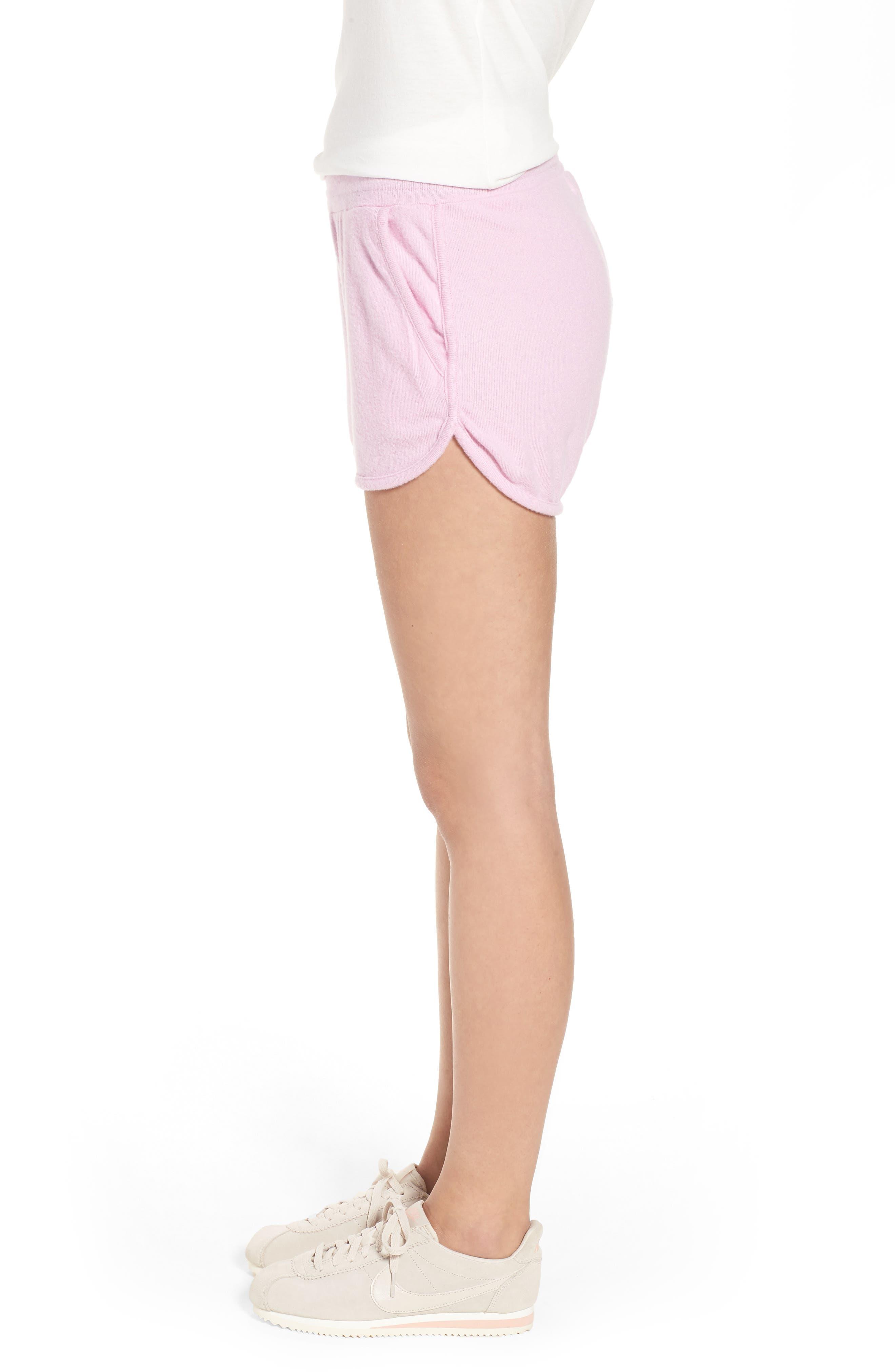 Costa Fleece Dolphin Shorts,                             Alternate thumbnail 3, color,                             500