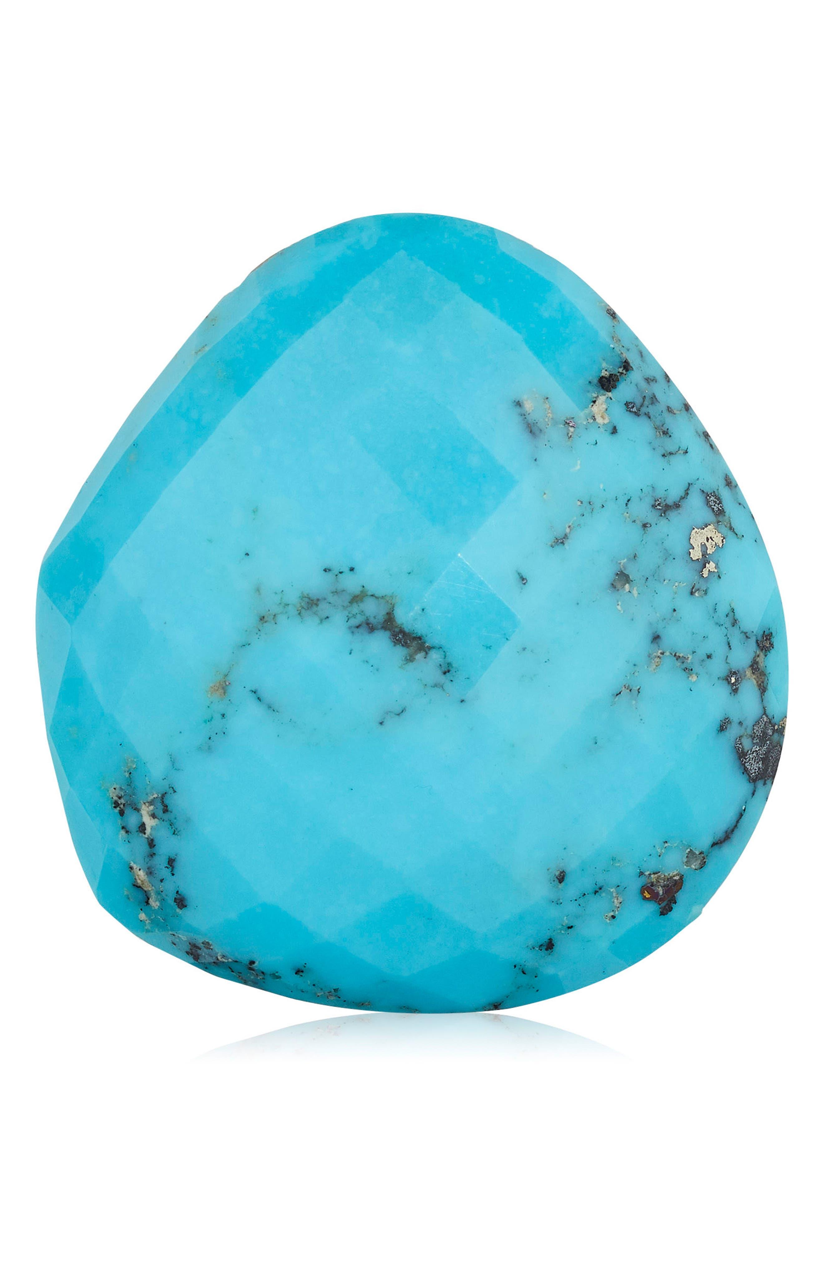 Nura Large Pebble Ring,                             Alternate thumbnail 4, color,                             TURQUOISE