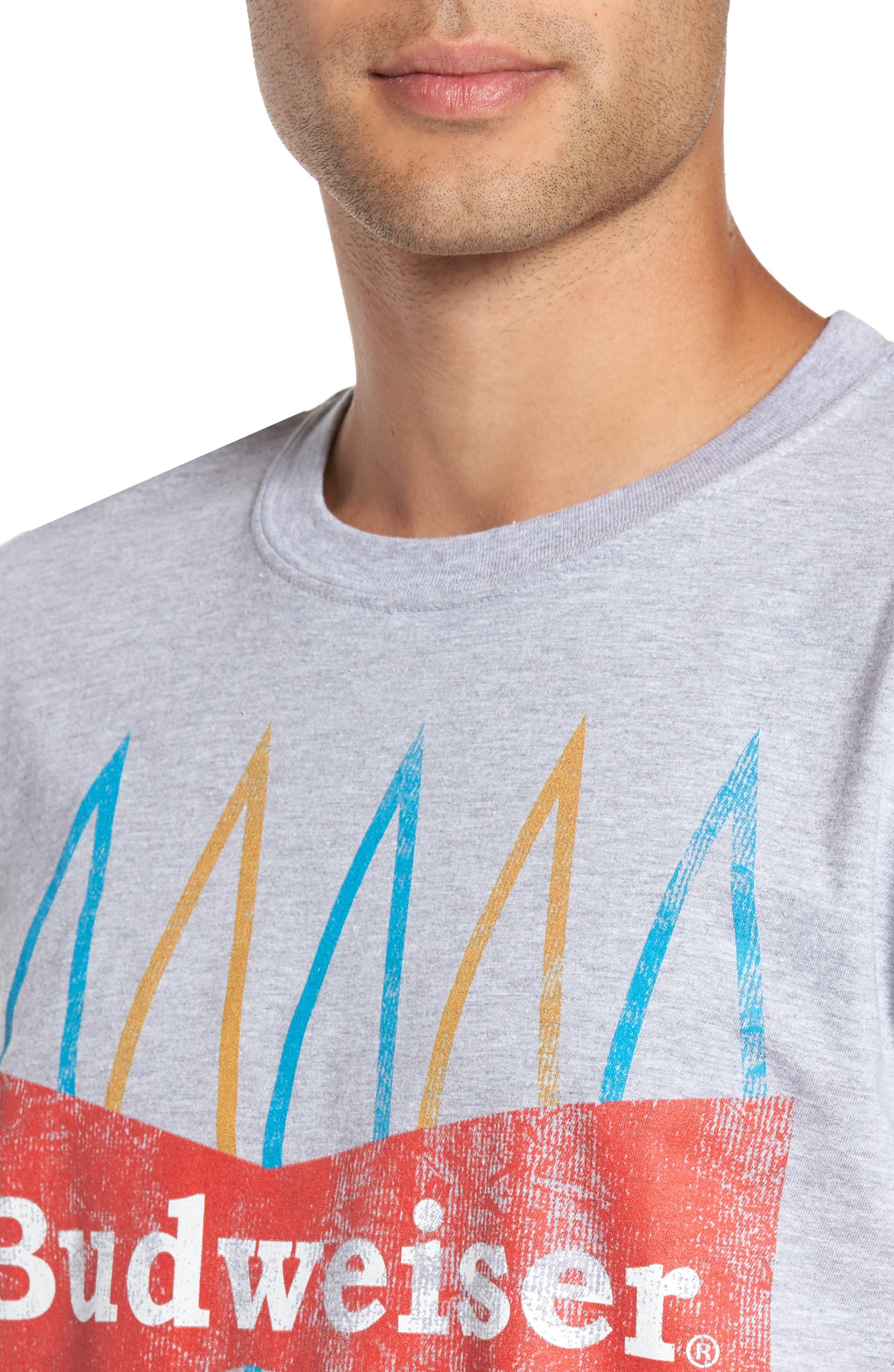 Budweiser<sup>®</sup> T-Shirt,                             Alternate thumbnail 4, color,                             030