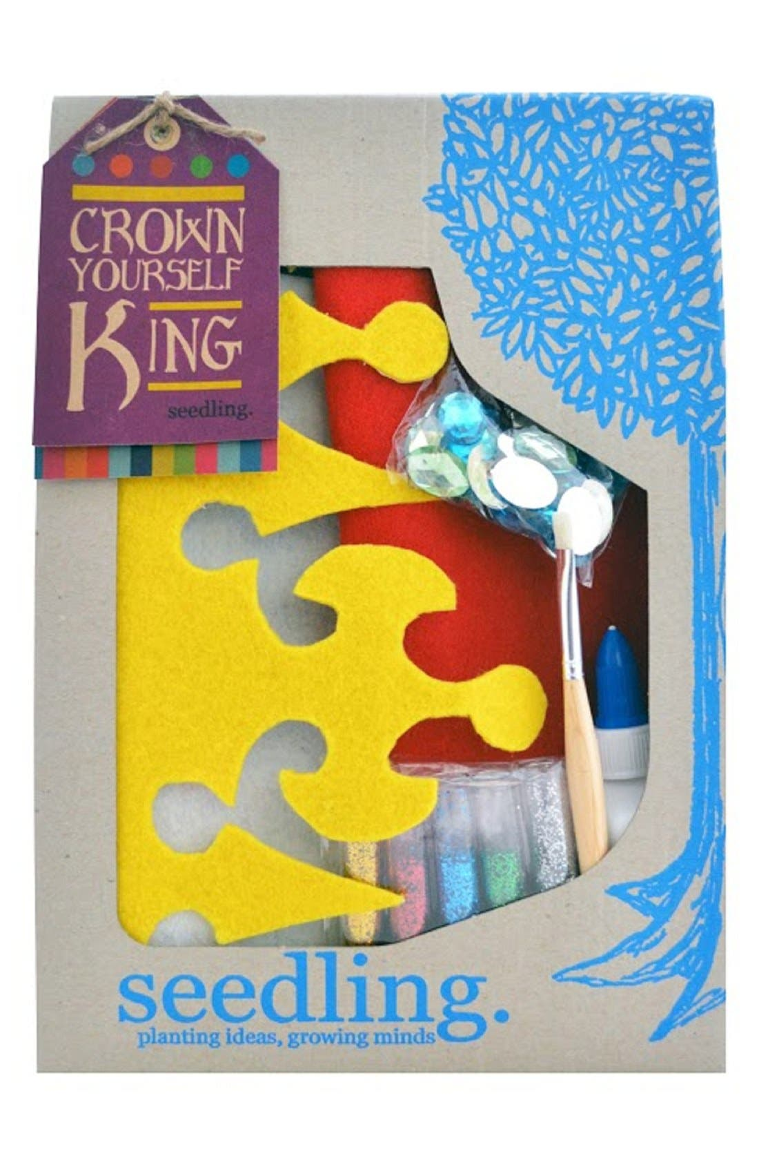 'Crown Yourself King' DIY Craft Set,                             Alternate thumbnail 2, color,                             960