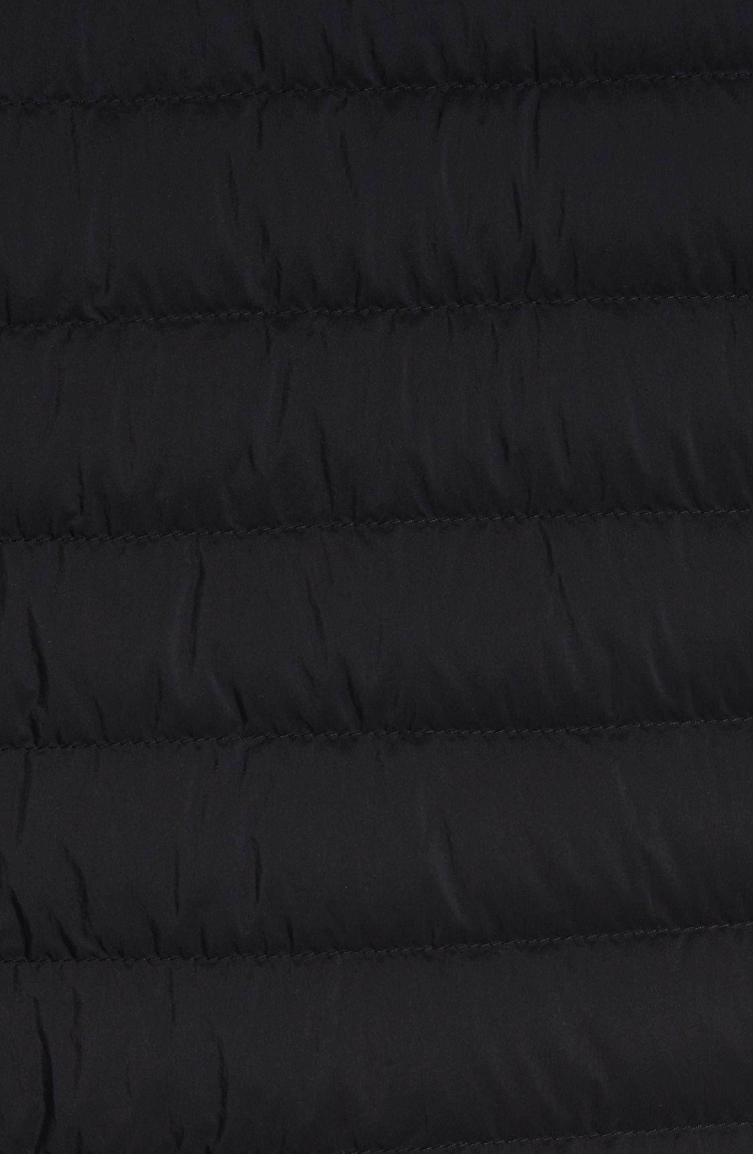 MONCLER,                             Dreux Hooded Down Jacket,                             Alternate thumbnail 6, color,                             BLACK