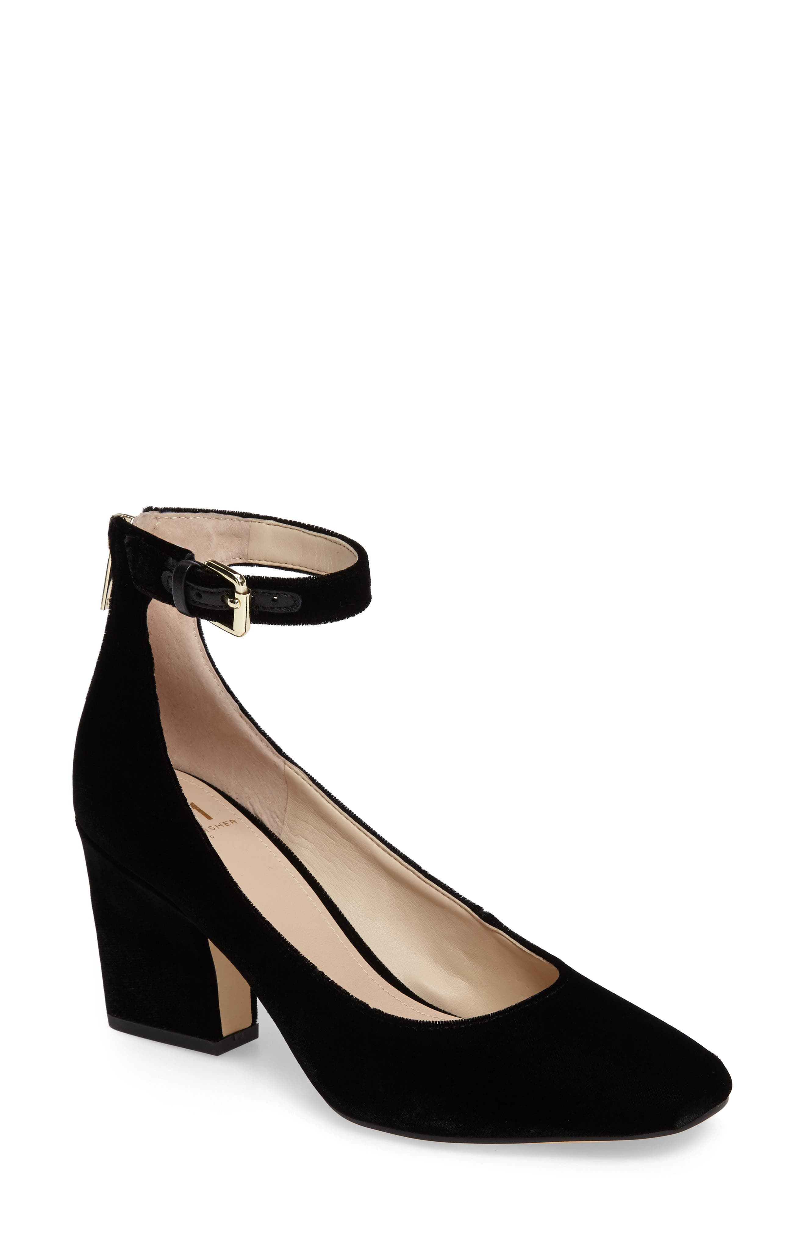 Anisy Ankle Strap Pump,                             Main thumbnail 2, color,