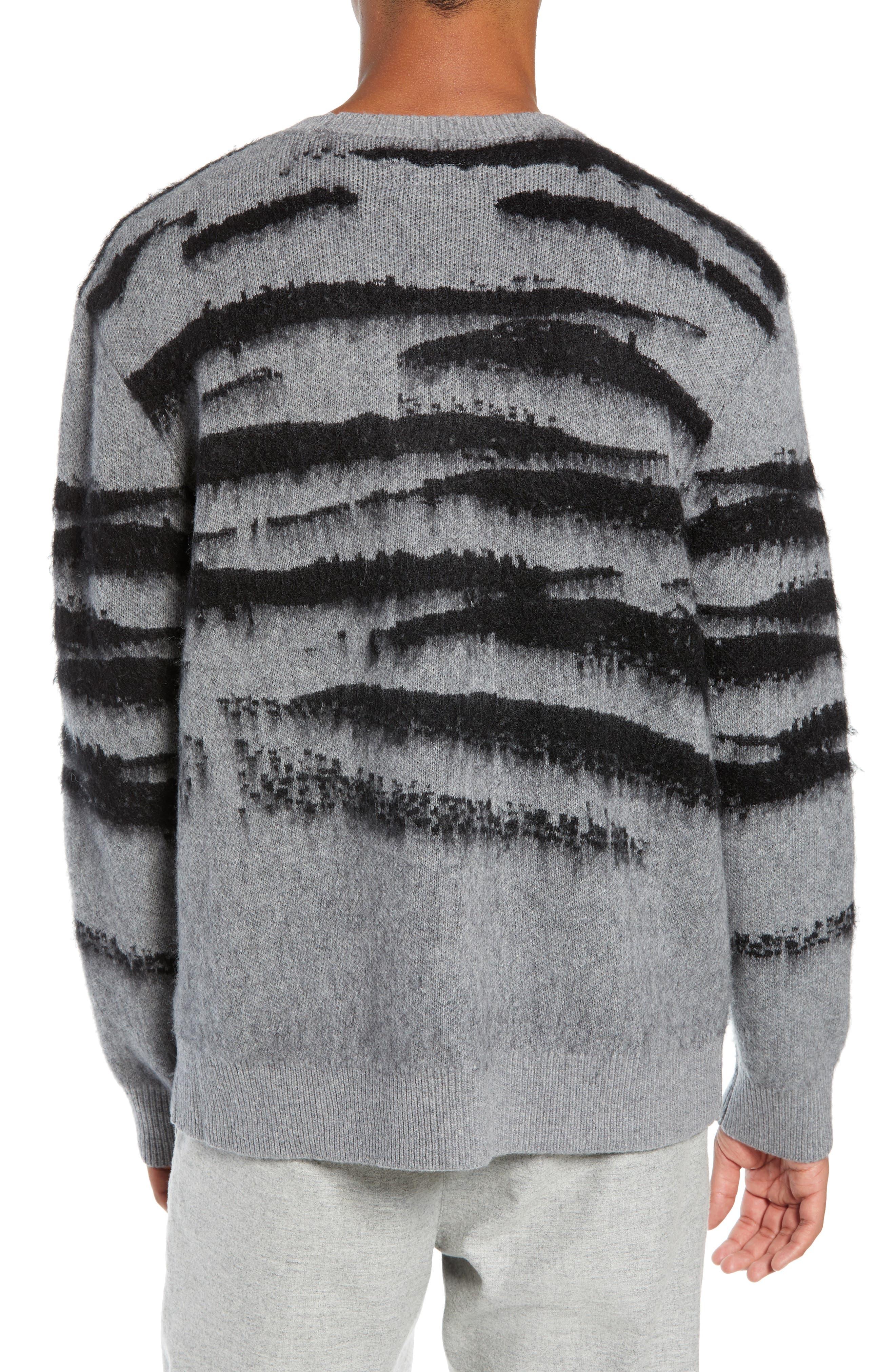 Ture Regular Fit Sweater,                             Alternate thumbnail 2, color,                             GREY/ CINDER