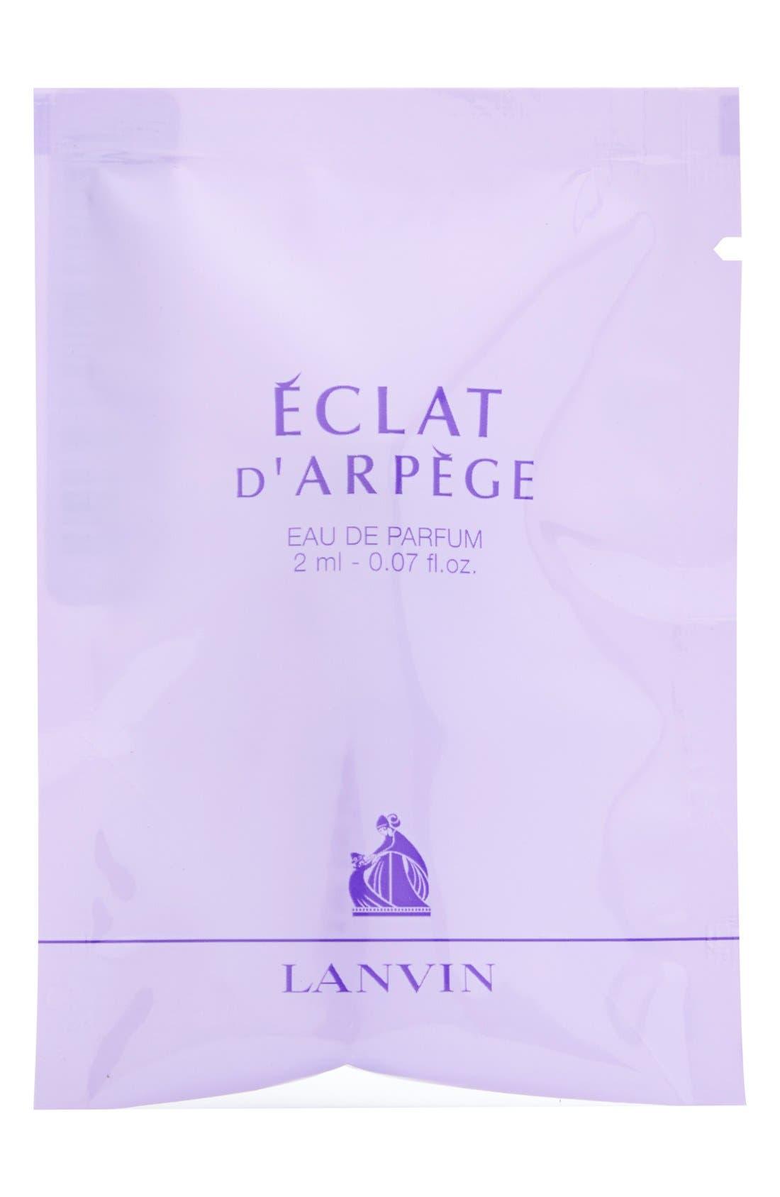 Arpège 'Éclat d'Arpège' Eau de Parfum Spray Sample, Main, color, 000