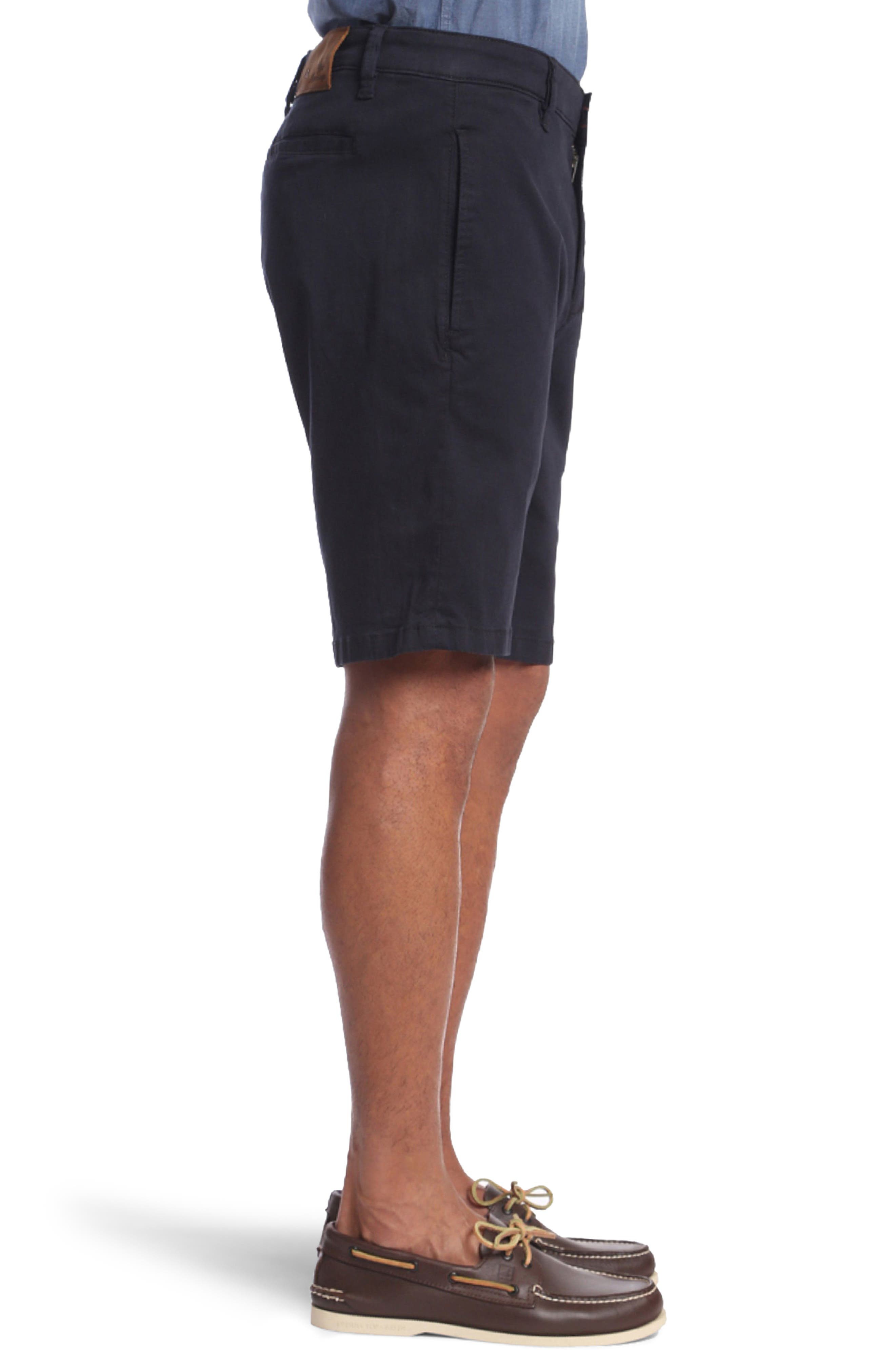 Nevada Twill Shorts,                             Alternate thumbnail 3, color,                             BLUE