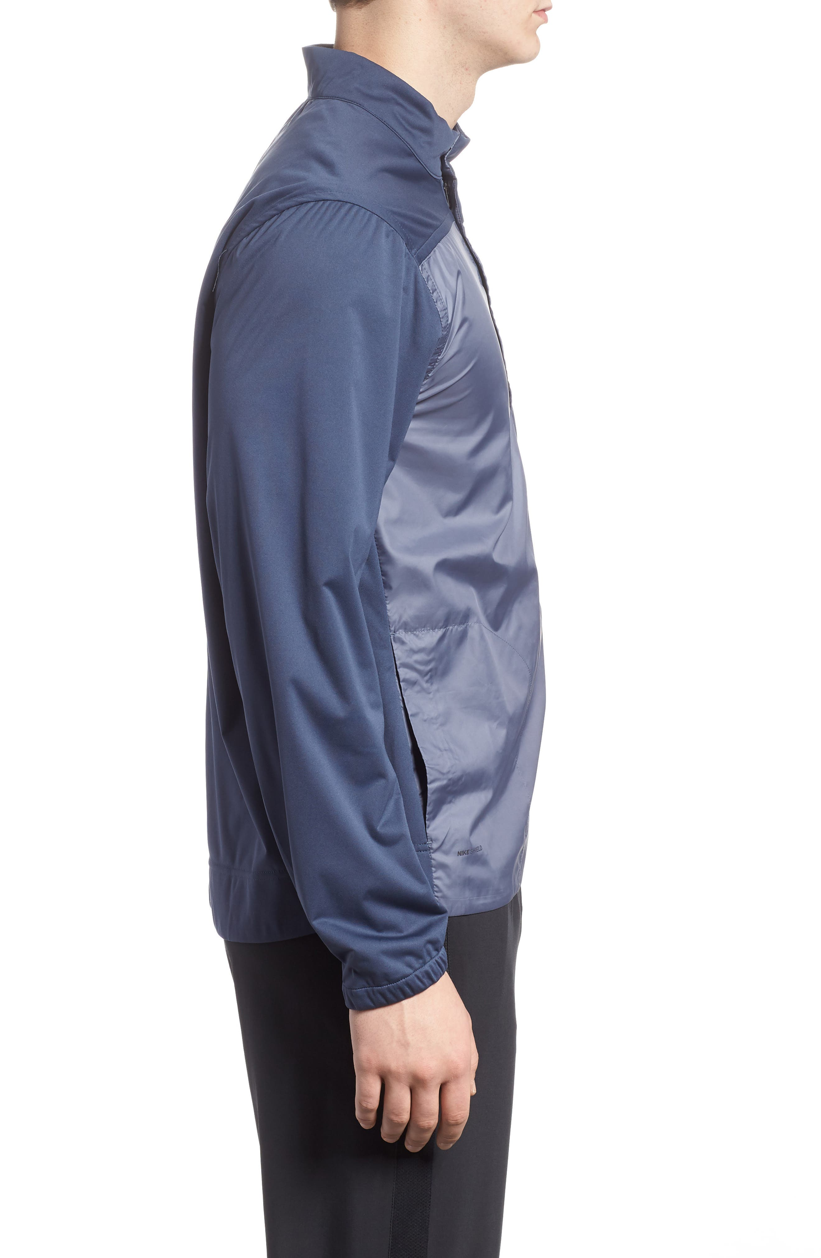 Shield Full Zip Golf Jacket,                             Alternate thumbnail 6, color,