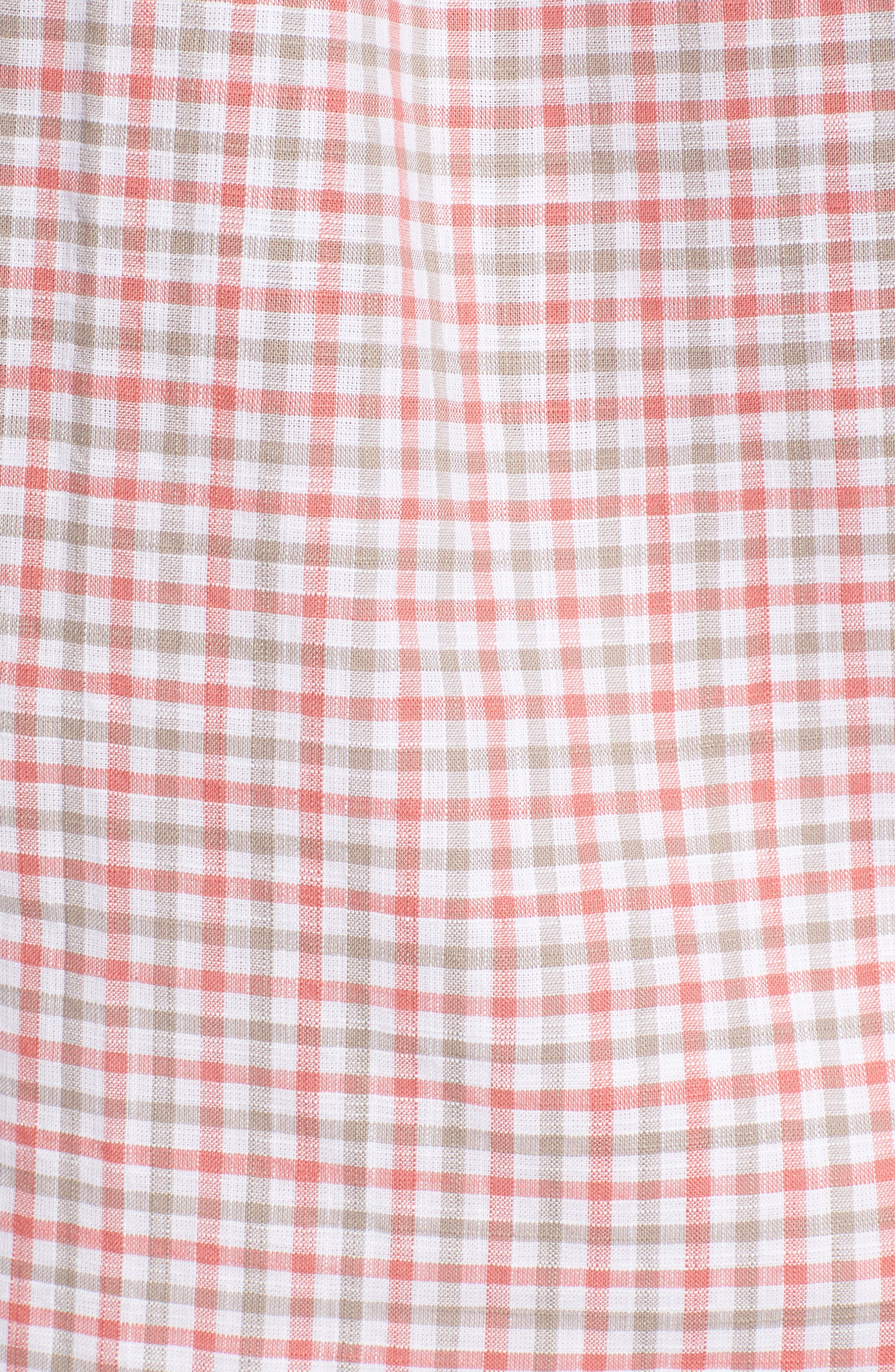 JOHNNIE-O,                             Driscoll Regular Fit Sport Shirt,                             Alternate thumbnail 5, color,                             630