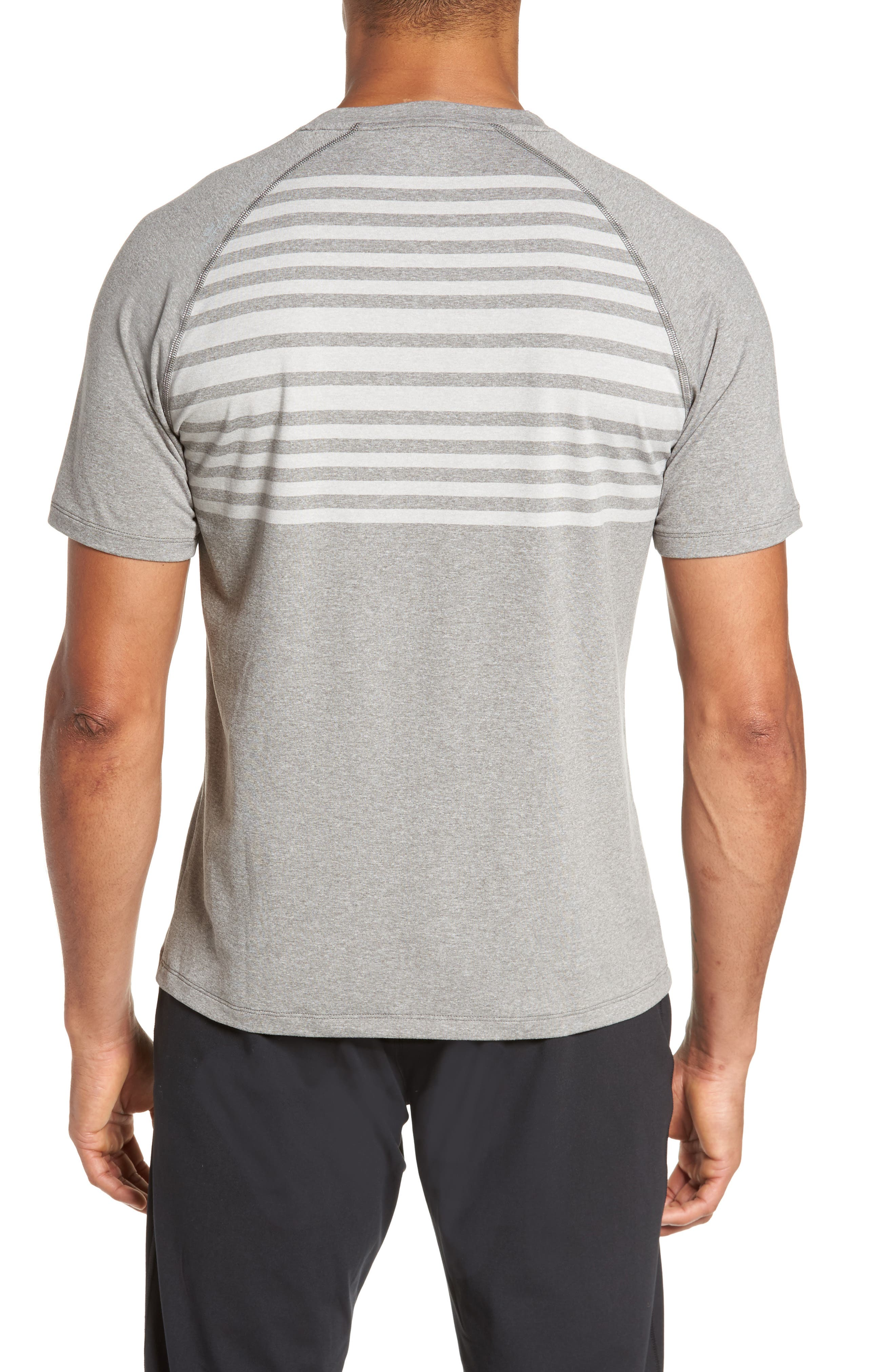 Rio Stripe Technical T-Shirt,                             Alternate thumbnail 2, color,                             025