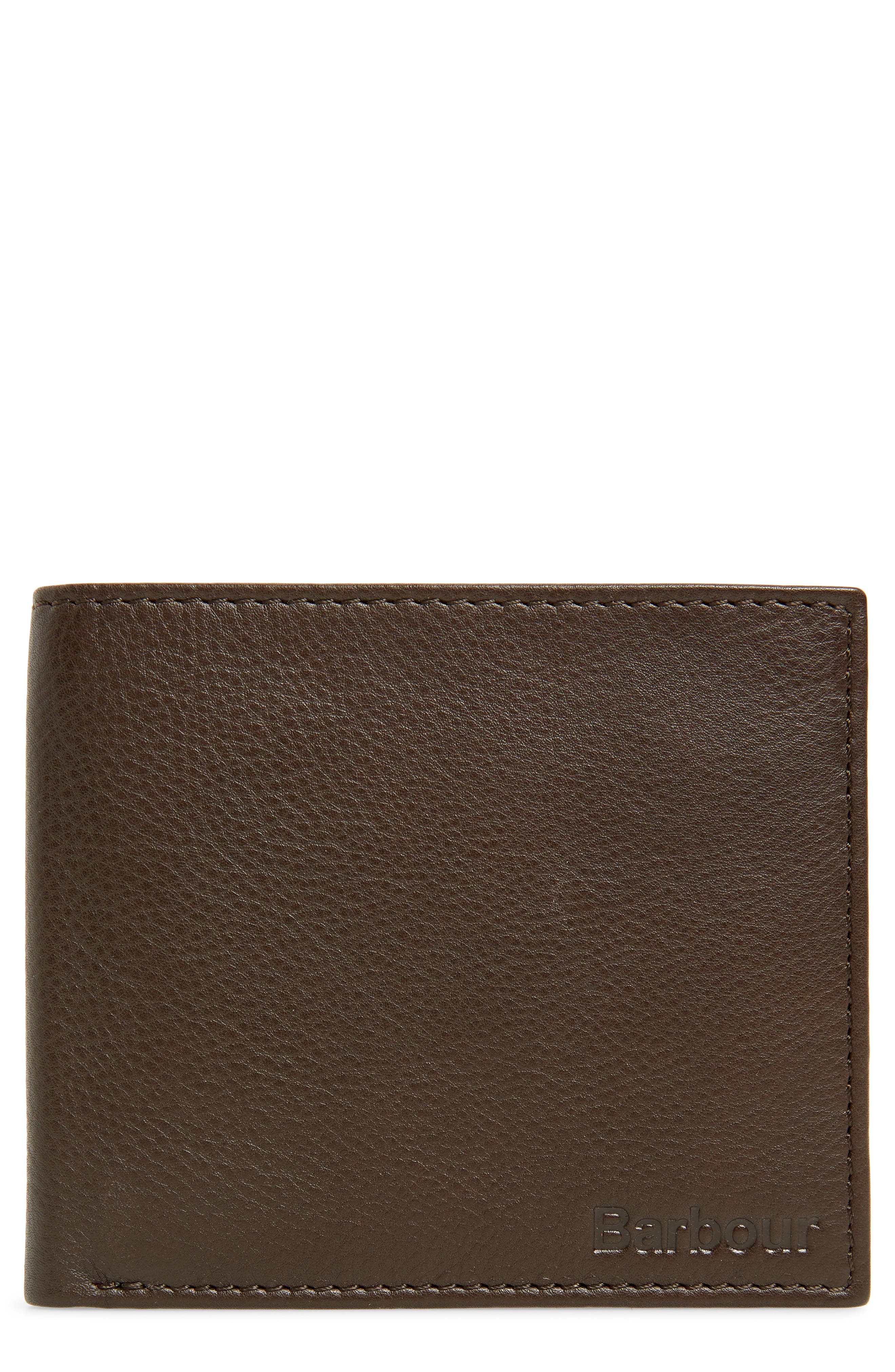 Leather Wallet,                         Main,                         color, 200