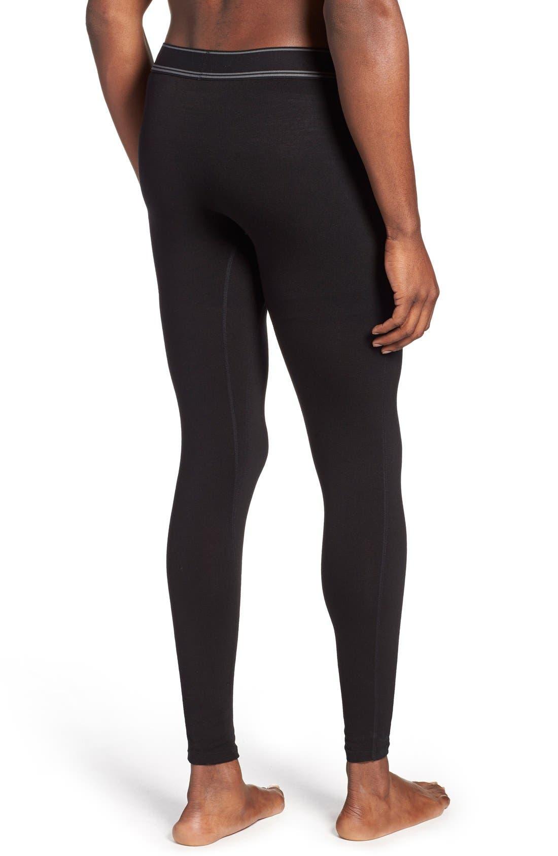SAXX,                             'Black Sheep' Moisture Wicking Long Underwear,                             Alternate thumbnail 2, color,                             019