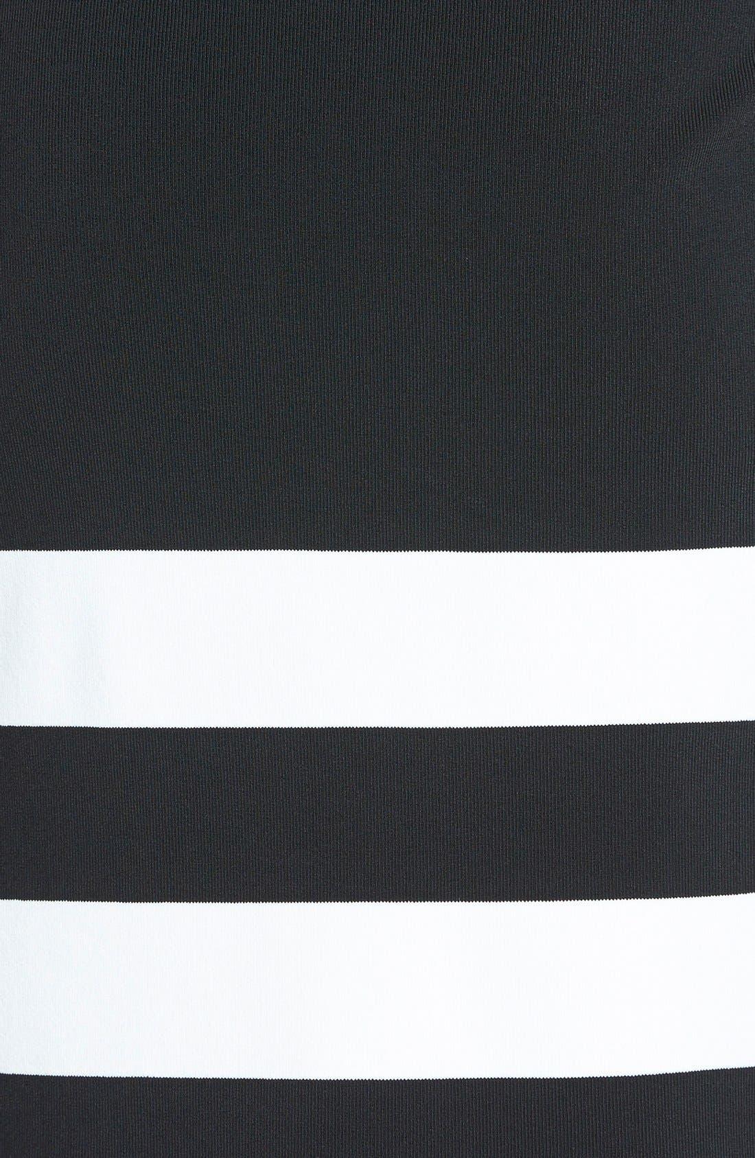 Sleeveless Mock Turtleneck Sweater,                             Alternate thumbnail 4, color,                             001