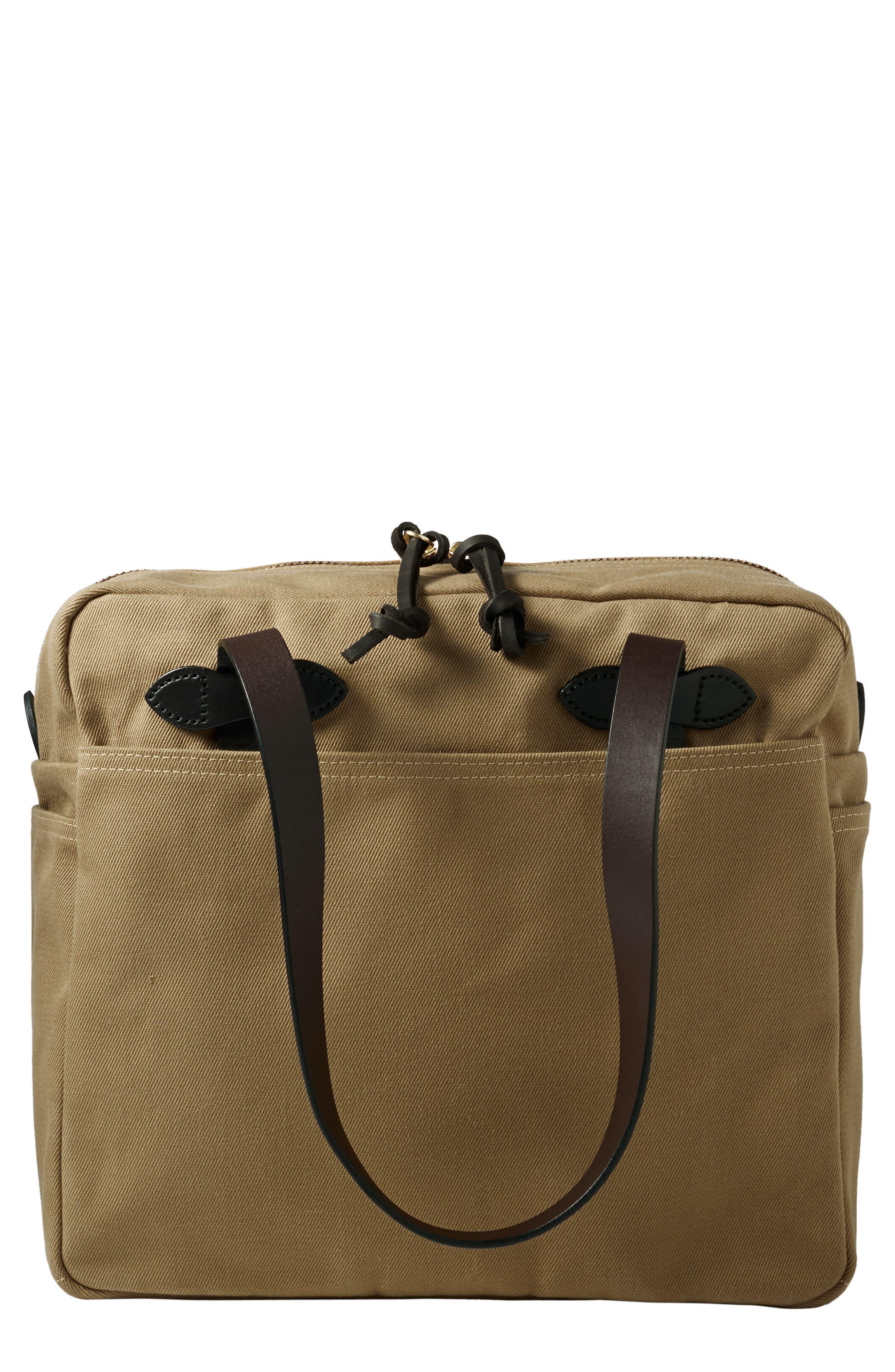 Rugged Twill Zip Tote Bag,                             Main thumbnail 1, color,                             242