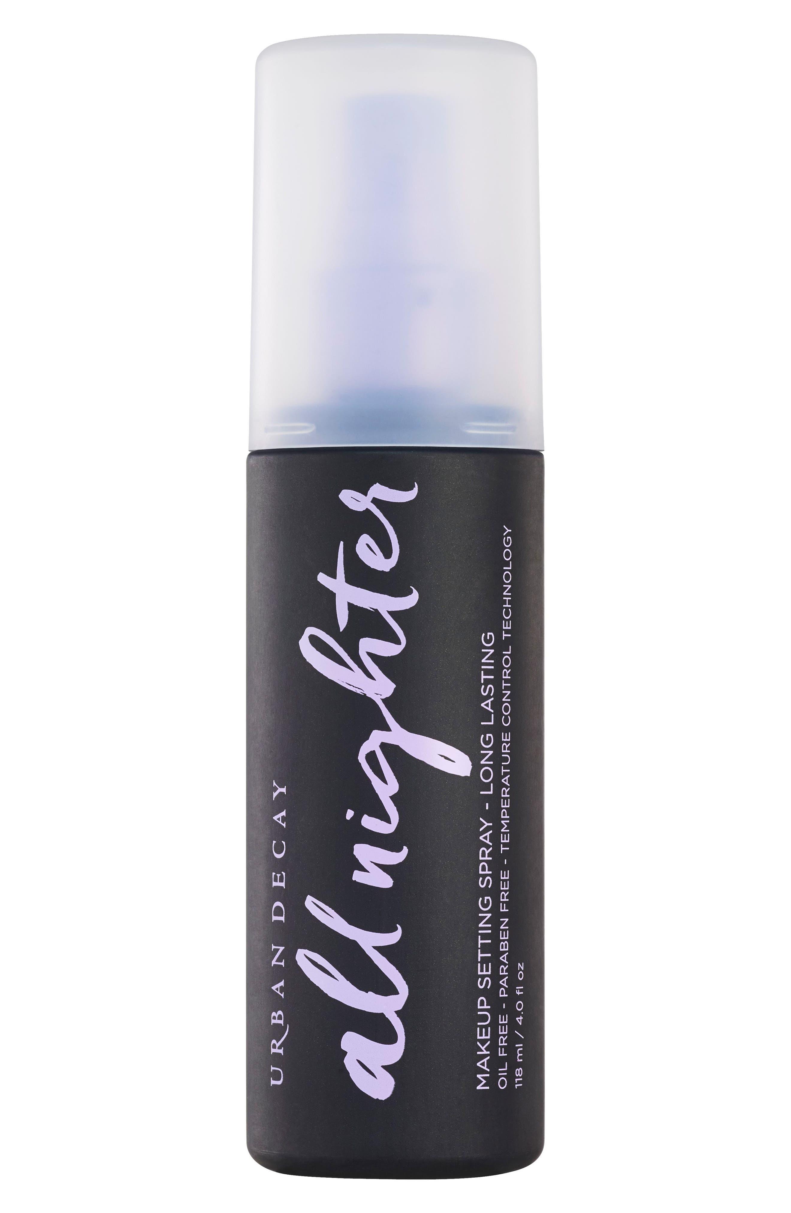 All Nighter Long-Lasting Makeup Setting Spray,                             Main thumbnail 1, color,                             NO COLOR
