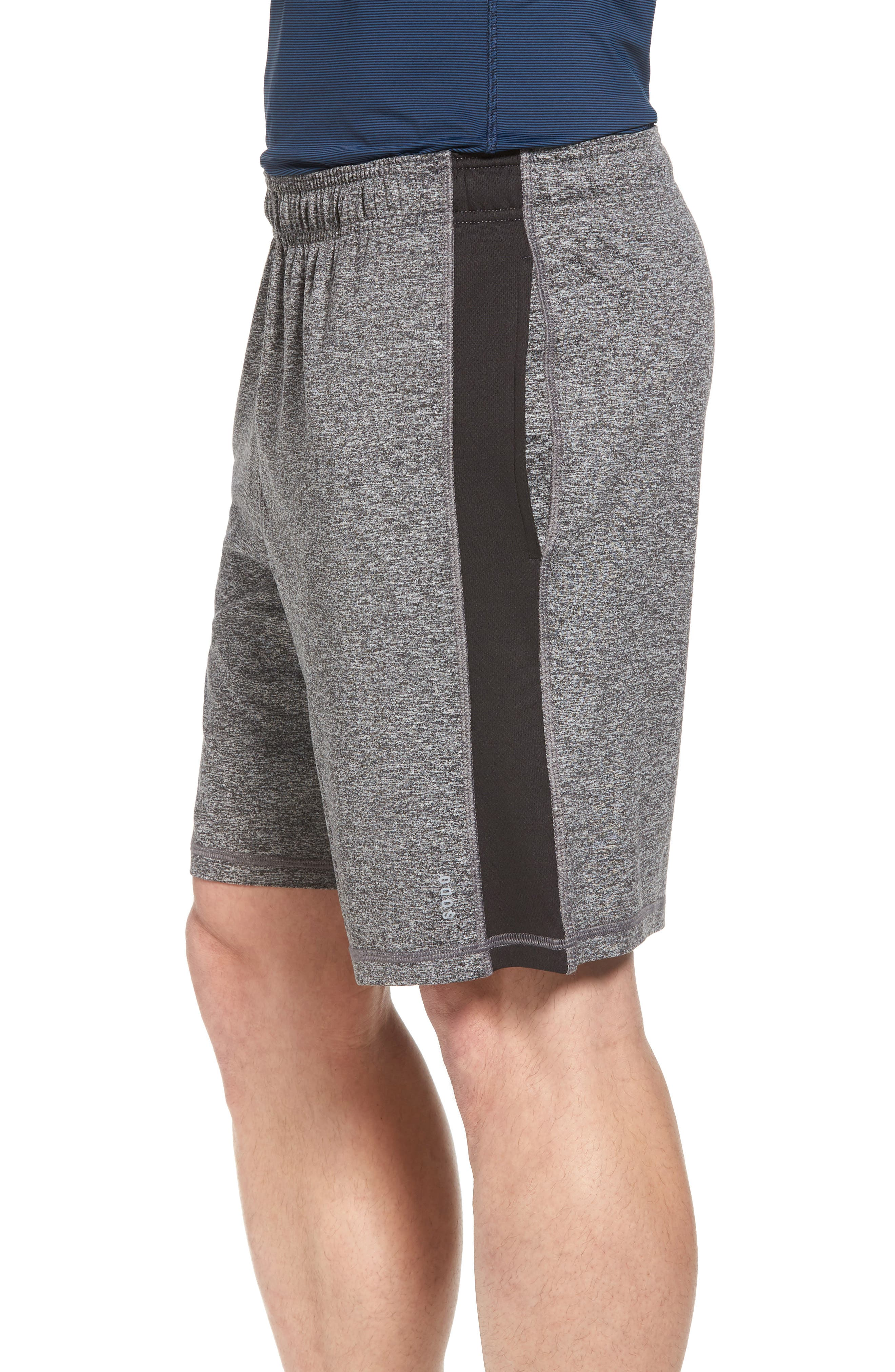 'Go To' Moisture Wicking Stretch Shorts,                             Alternate thumbnail 3, color,                             011