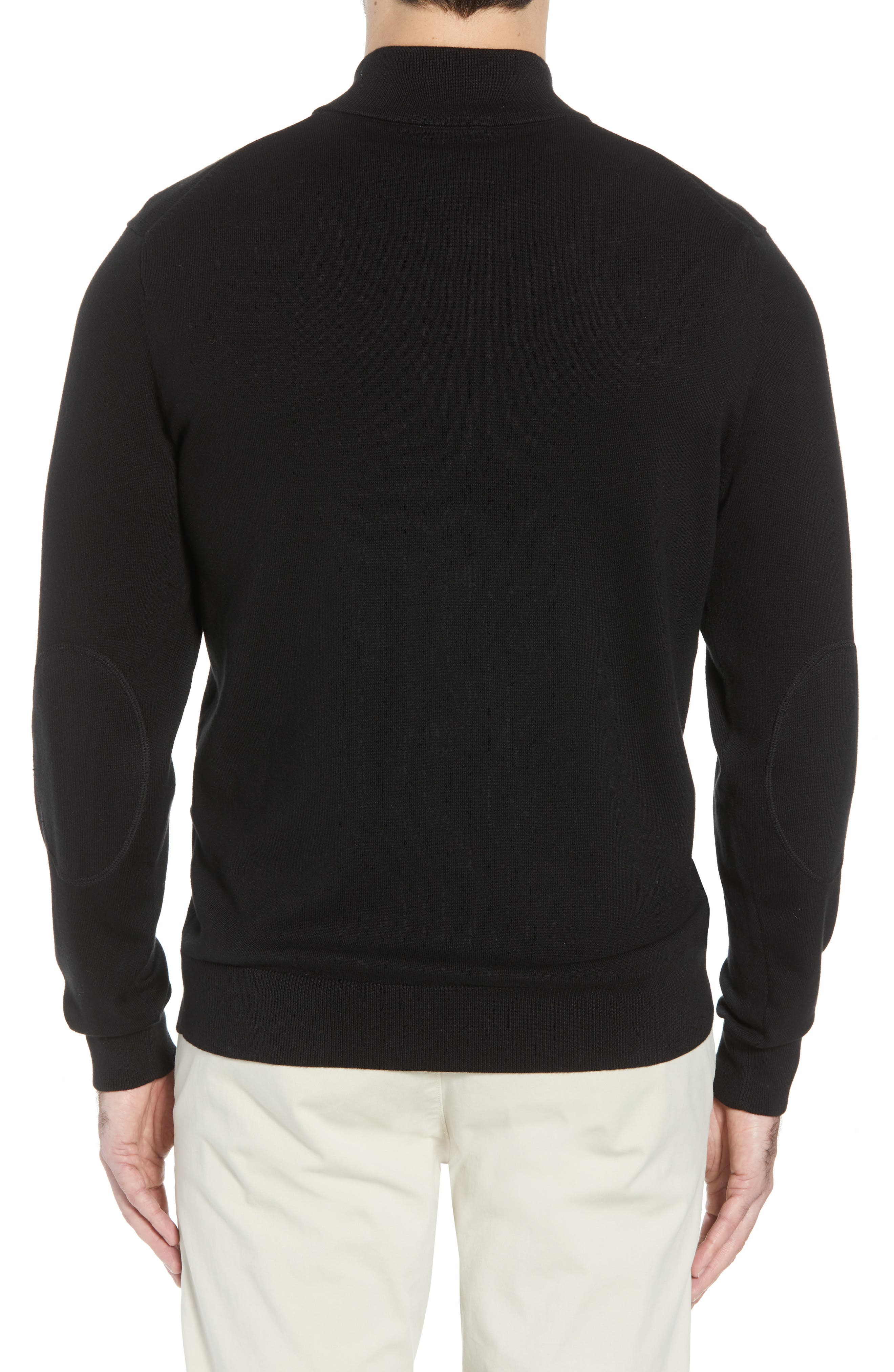 Cincinnati Bengals - Lakemont Regular Fit Quarter Zip Sweater,                             Alternate thumbnail 2, color,                             001