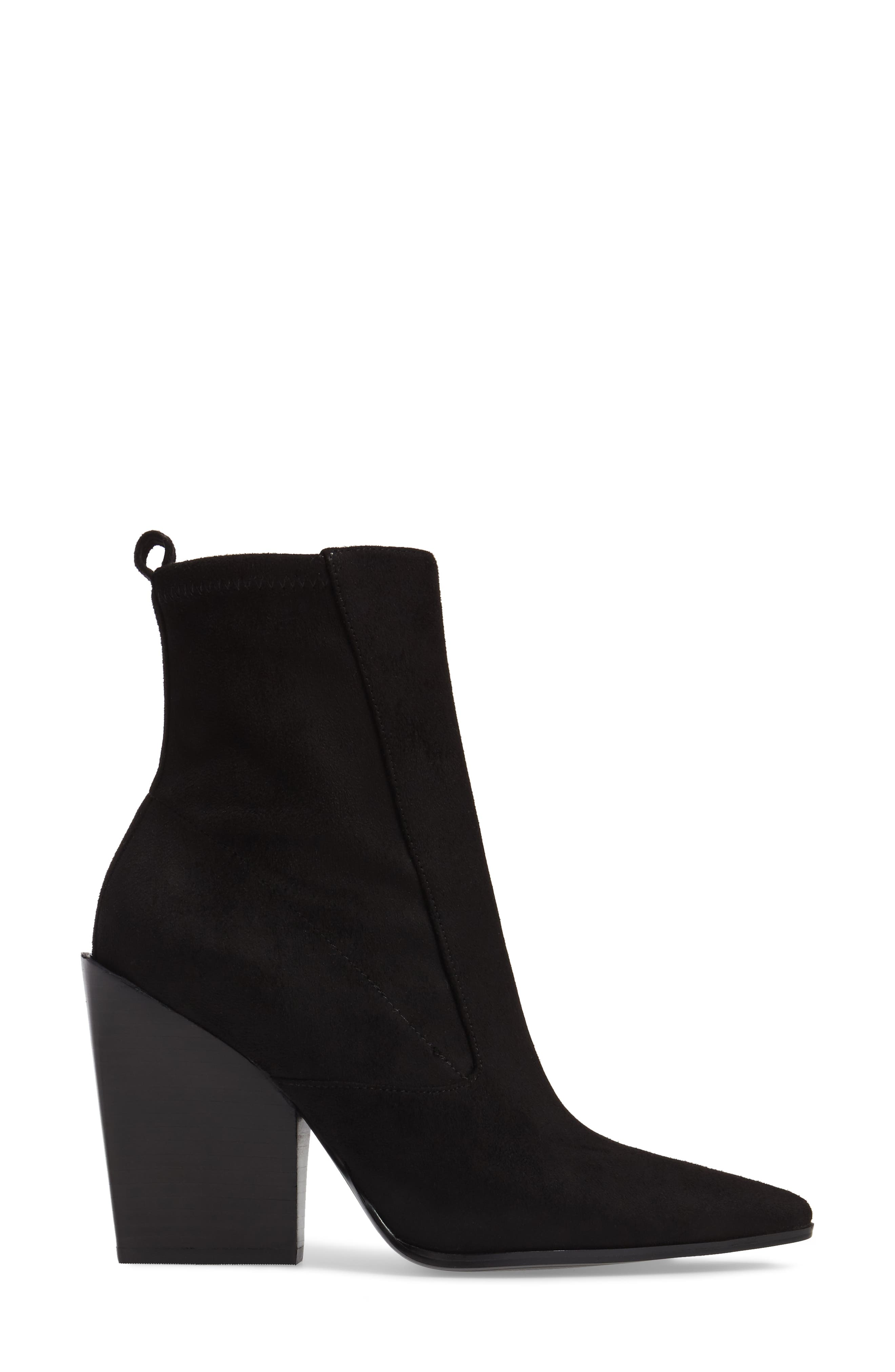 Fallyn Pointed Toe Bootie,                             Alternate thumbnail 3, color,                             006