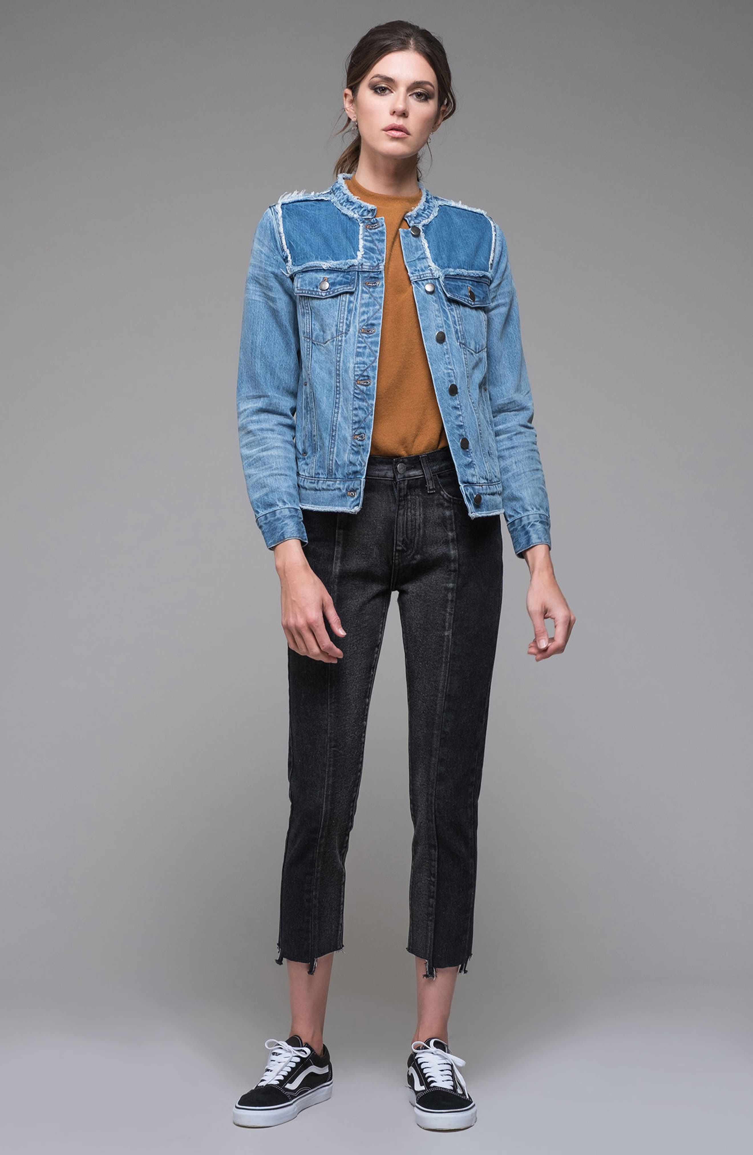Bastille Jean Jacket,                             Alternate thumbnail 7, color,                             401