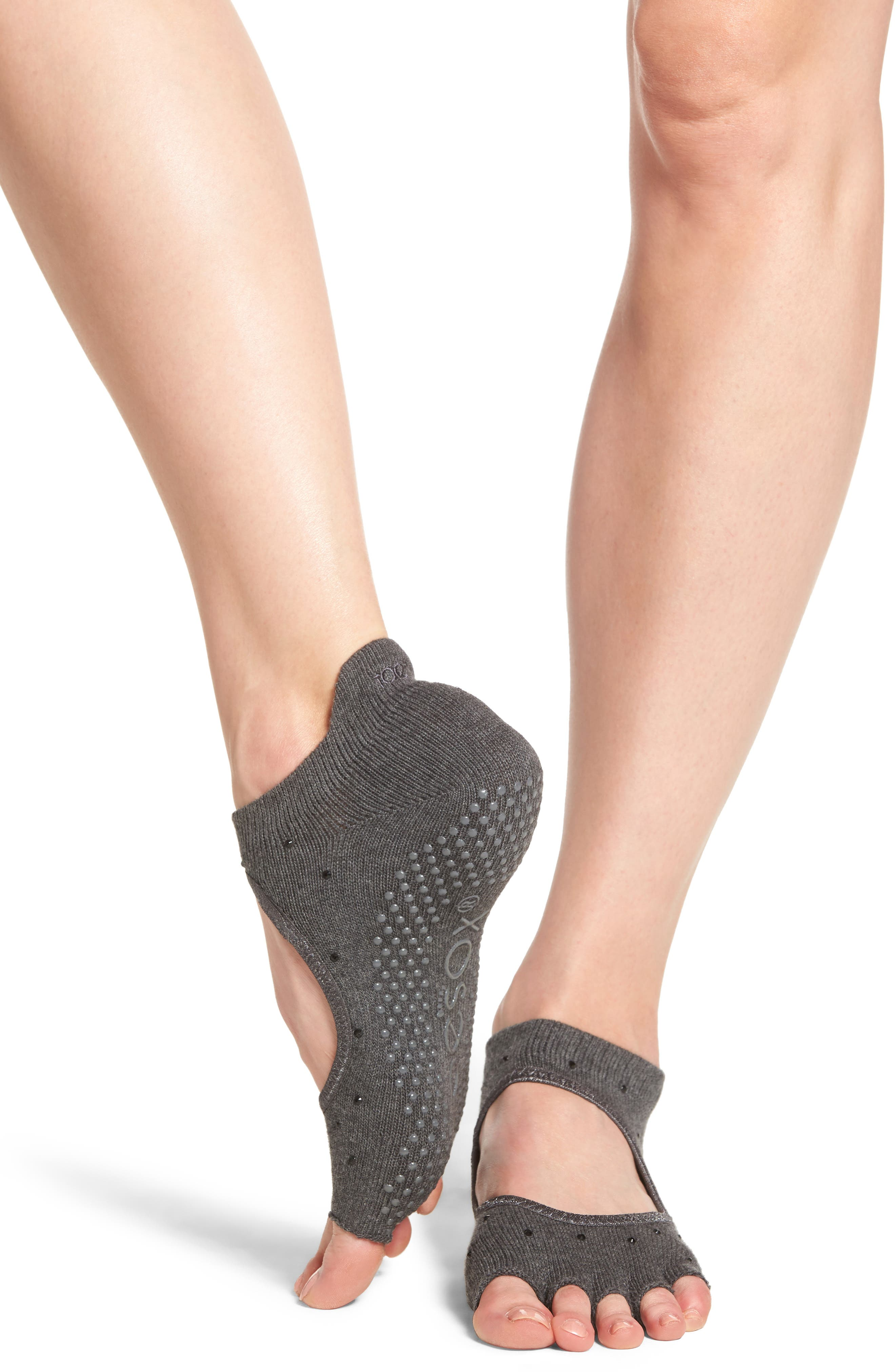 Half Toe Grip Socks,                             Alternate thumbnail 2, color,