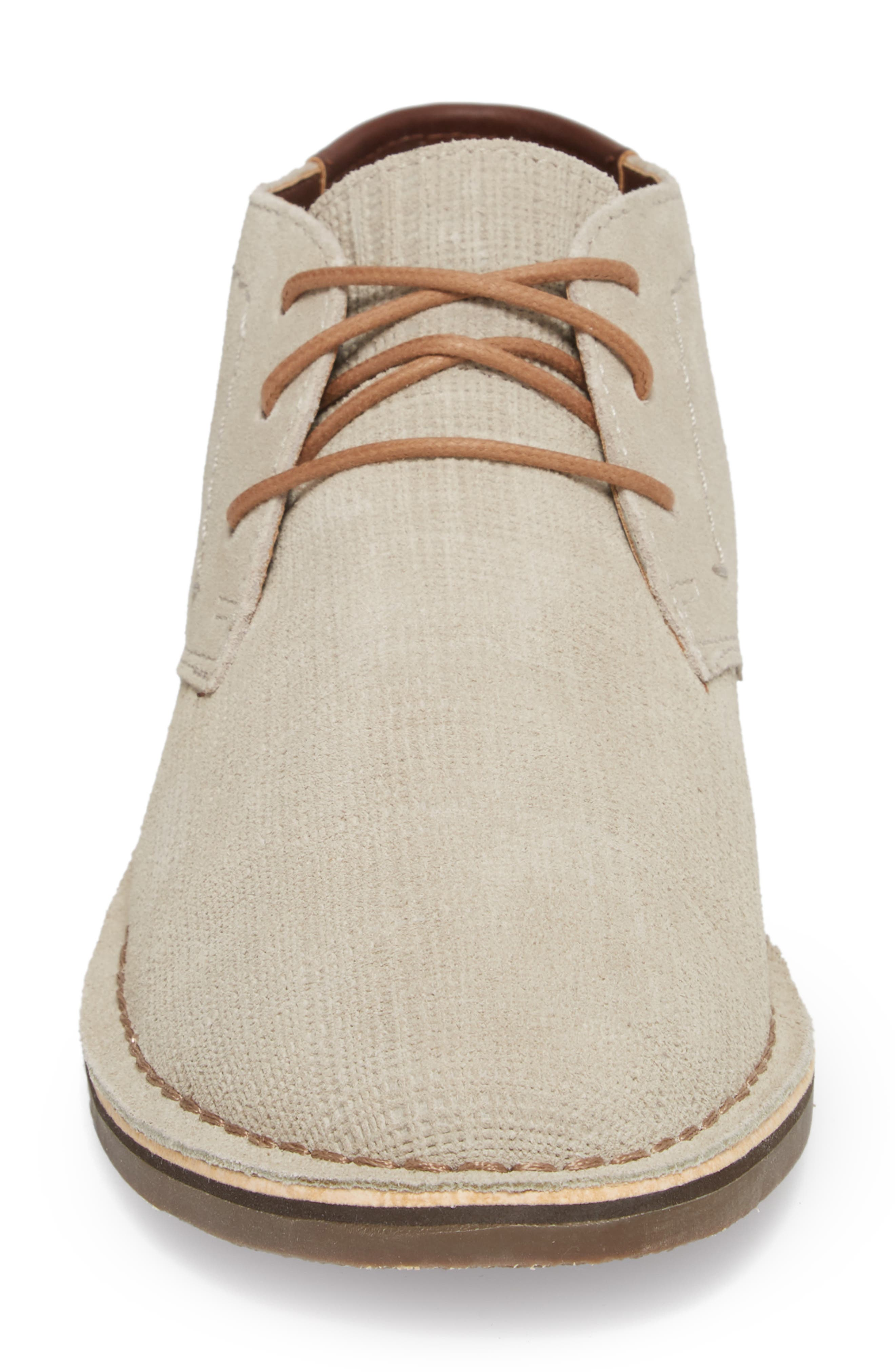 Desert Sun Textured Chukka Boot,                             Alternate thumbnail 8, color,