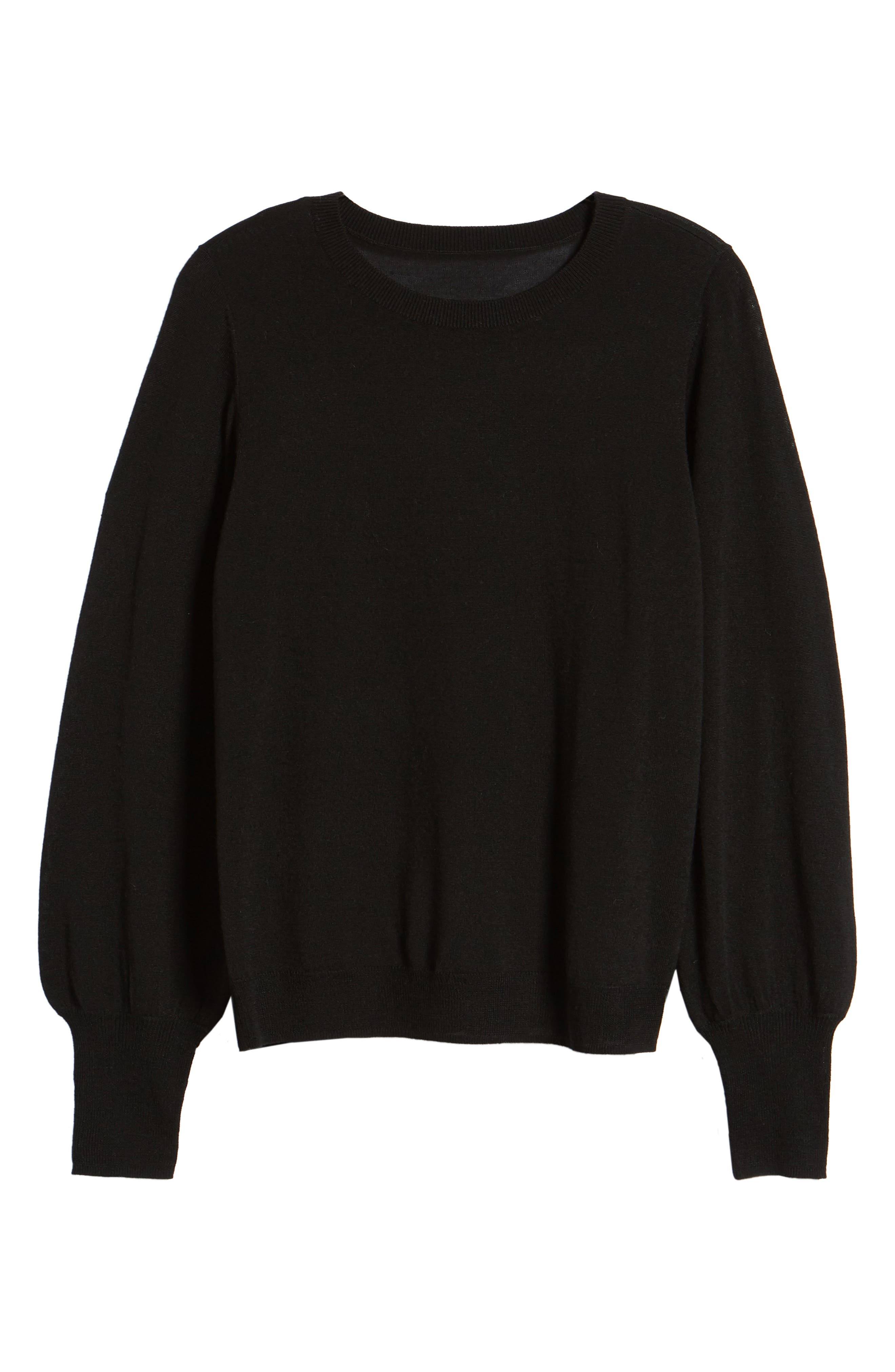 Puff Sleeve Sweater,                             Alternate thumbnail 52, color,