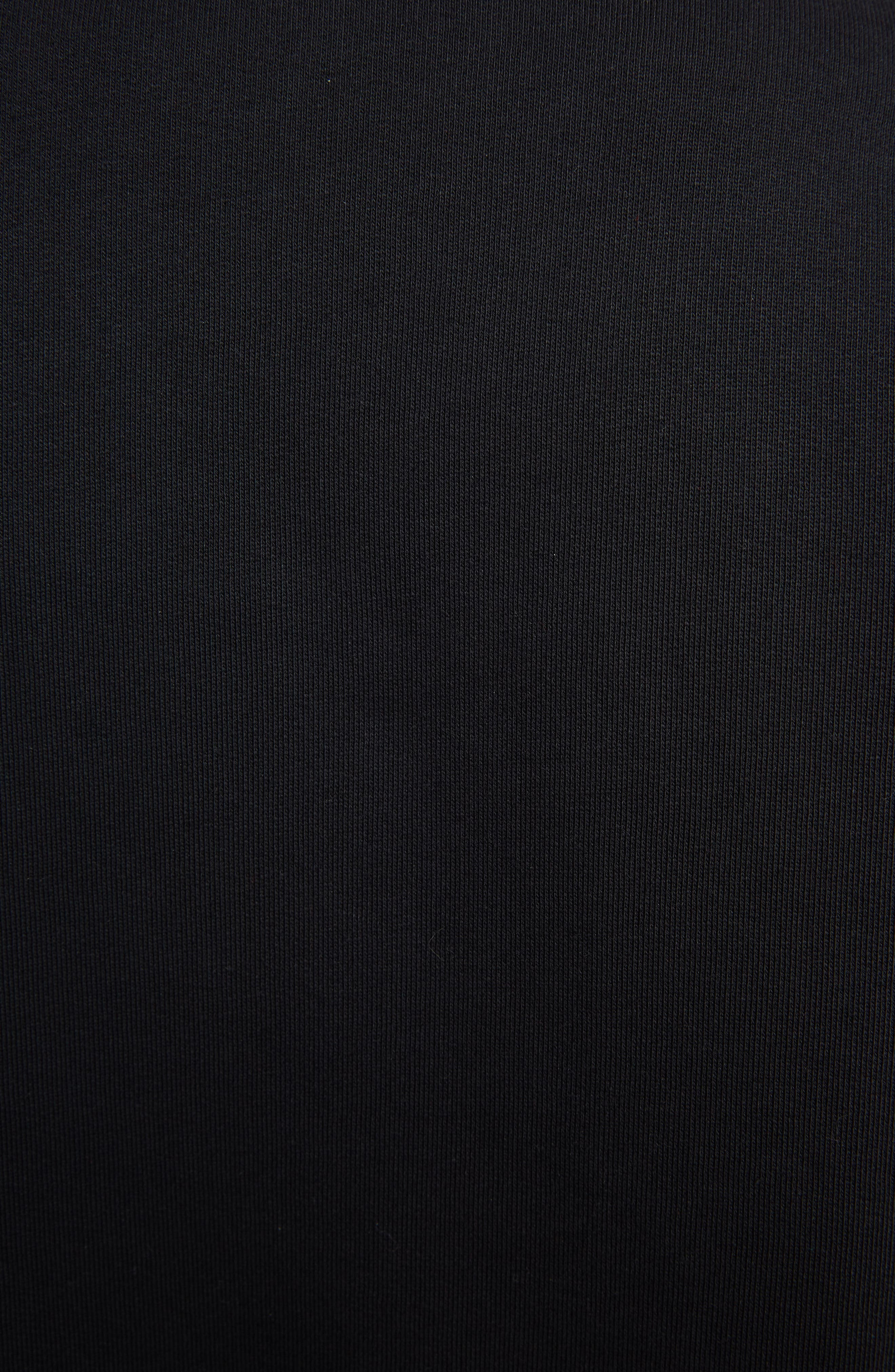 Tiger Relax Sweatshirt,                             Alternate thumbnail 5, color,                             BLACK