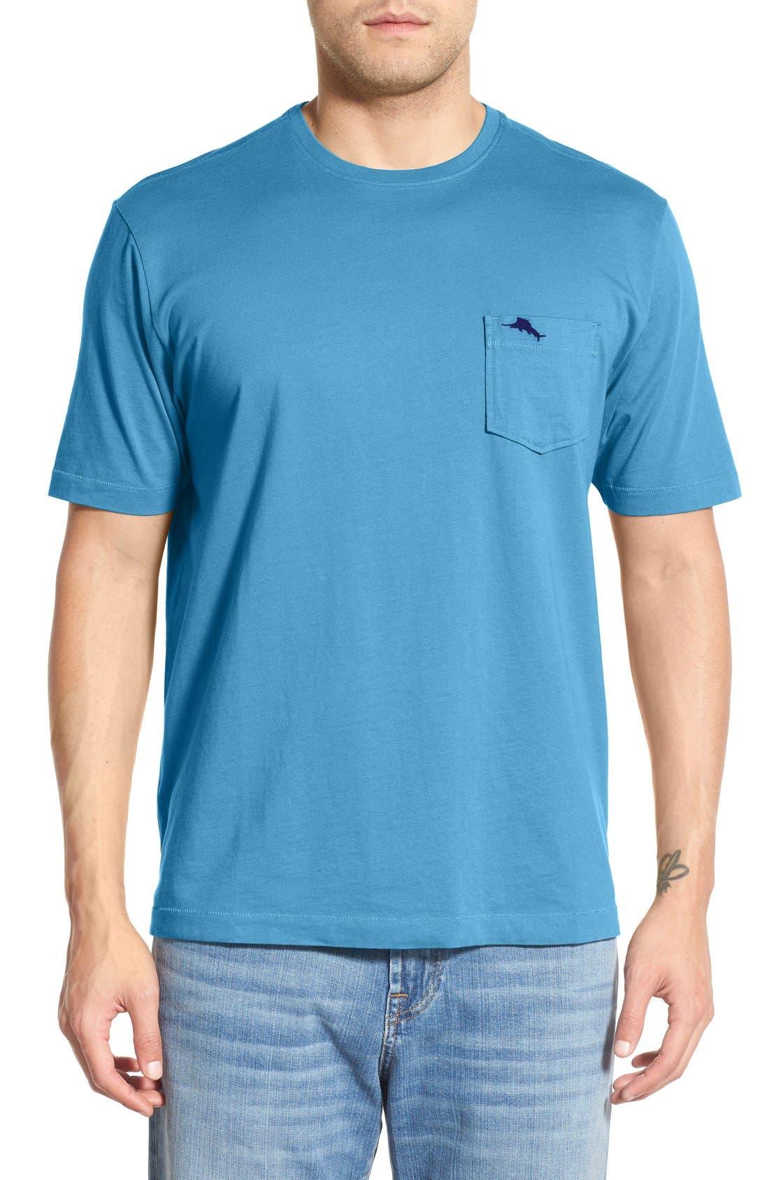 New Bali Sky Pima Cotton Pocket T-Shirt,                             Main thumbnail 30, color,