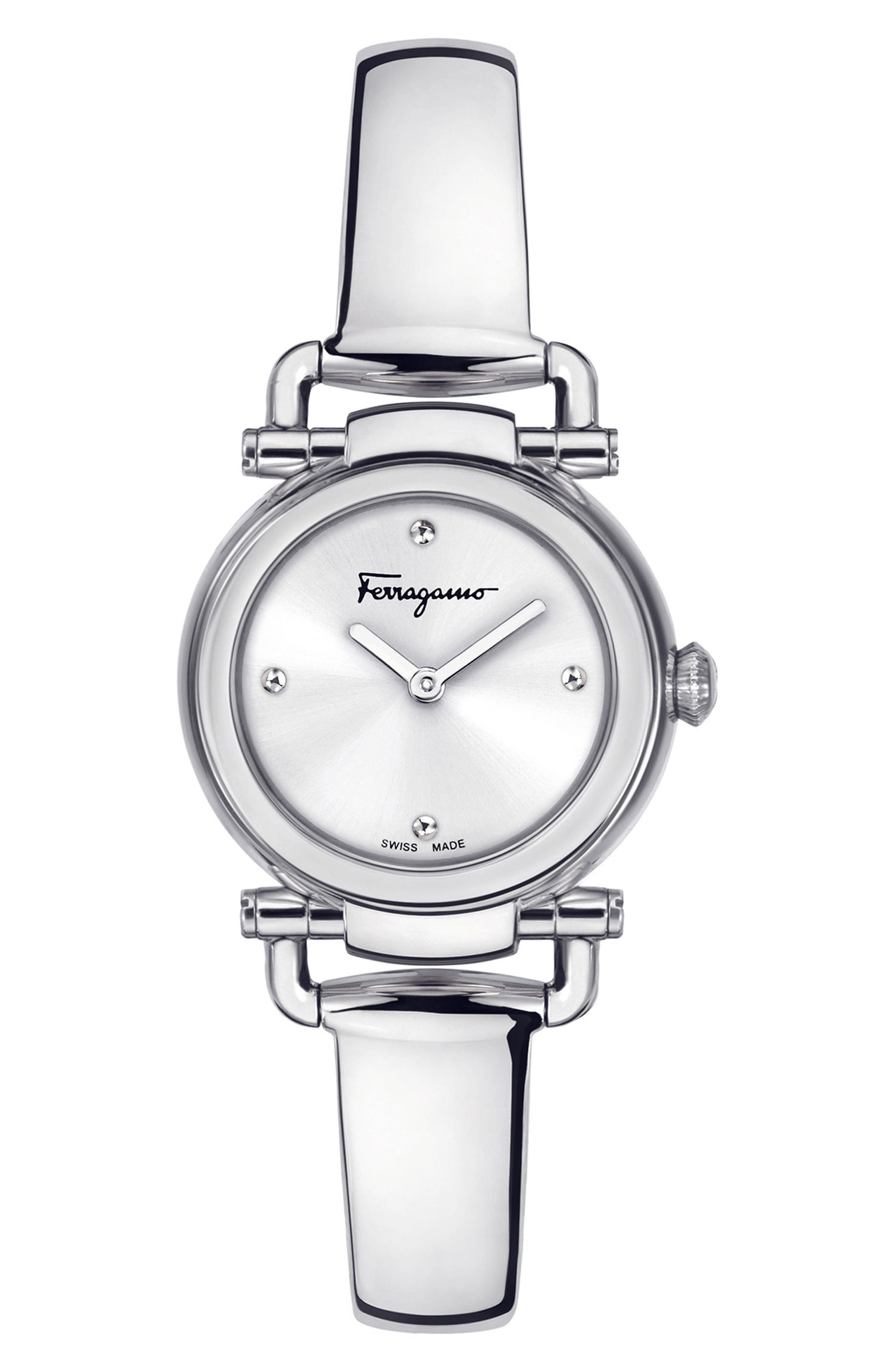 SALVATORE FERRAGAMO,                             Gancino Casual Watch, 26mm,                             Main thumbnail 1, color,                             040
