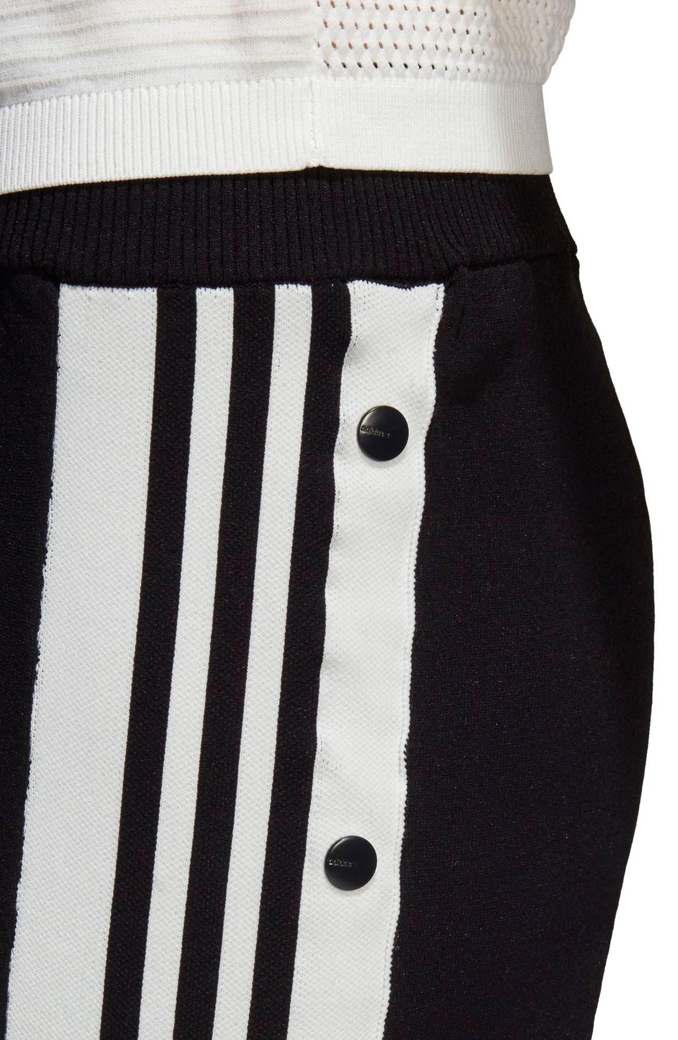 Adibreak Track Pants,                             Alternate thumbnail 8, color,                             BLACK