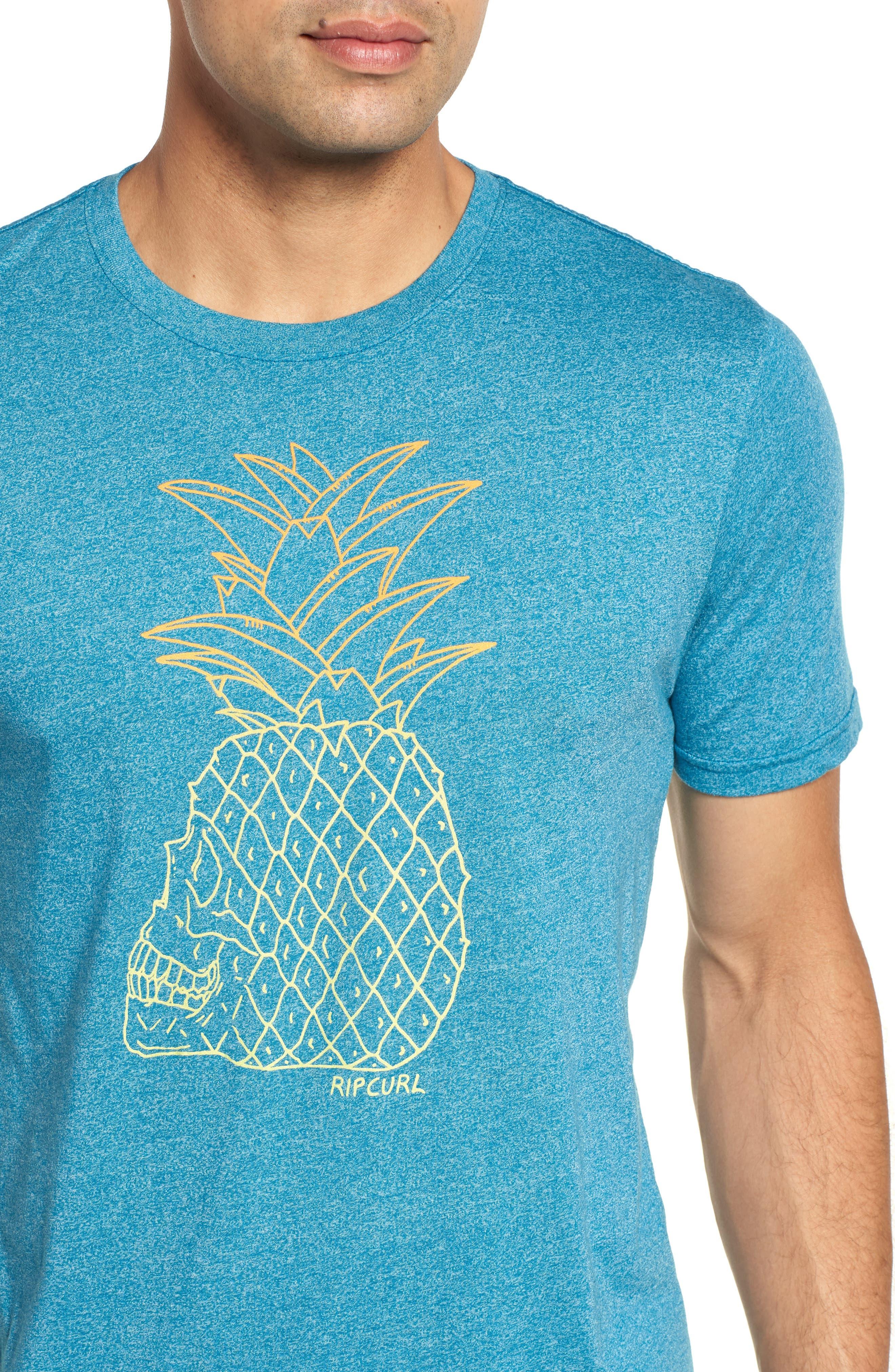 Skullapple Mock Twist T-Shirt,                             Alternate thumbnail 4, color,                             440