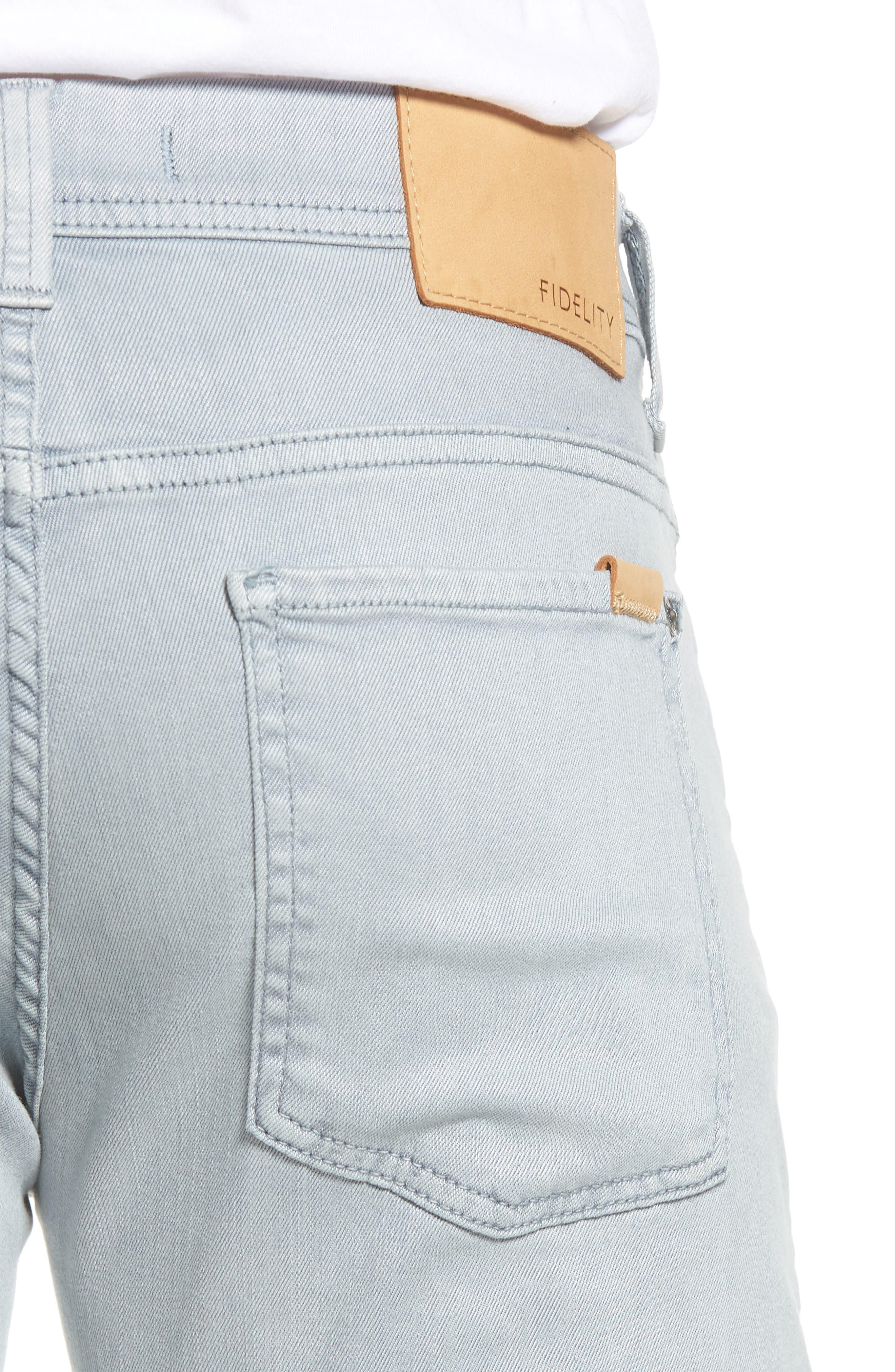 FIDELITY DENIM,                             Fidelity Jimmy Slim Straight Leg Jeans,                             Alternate thumbnail 4, color,                             020