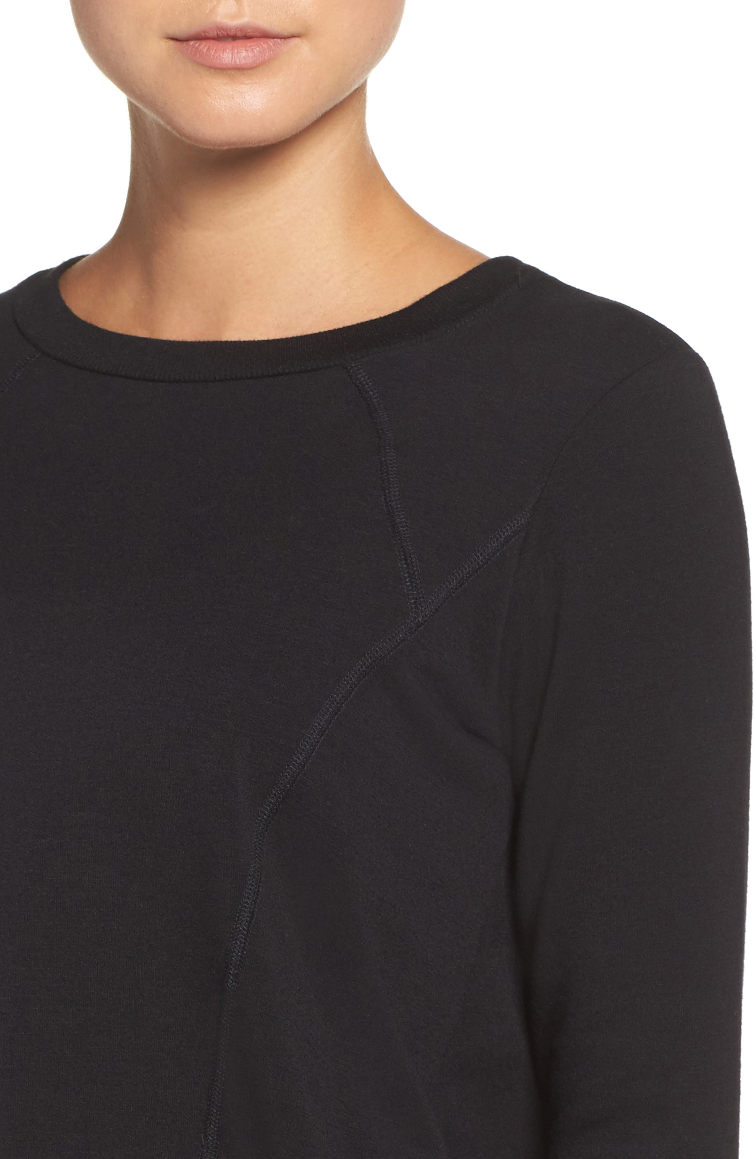 Fleece Pullover,                             Alternate thumbnail 4, color,                             001