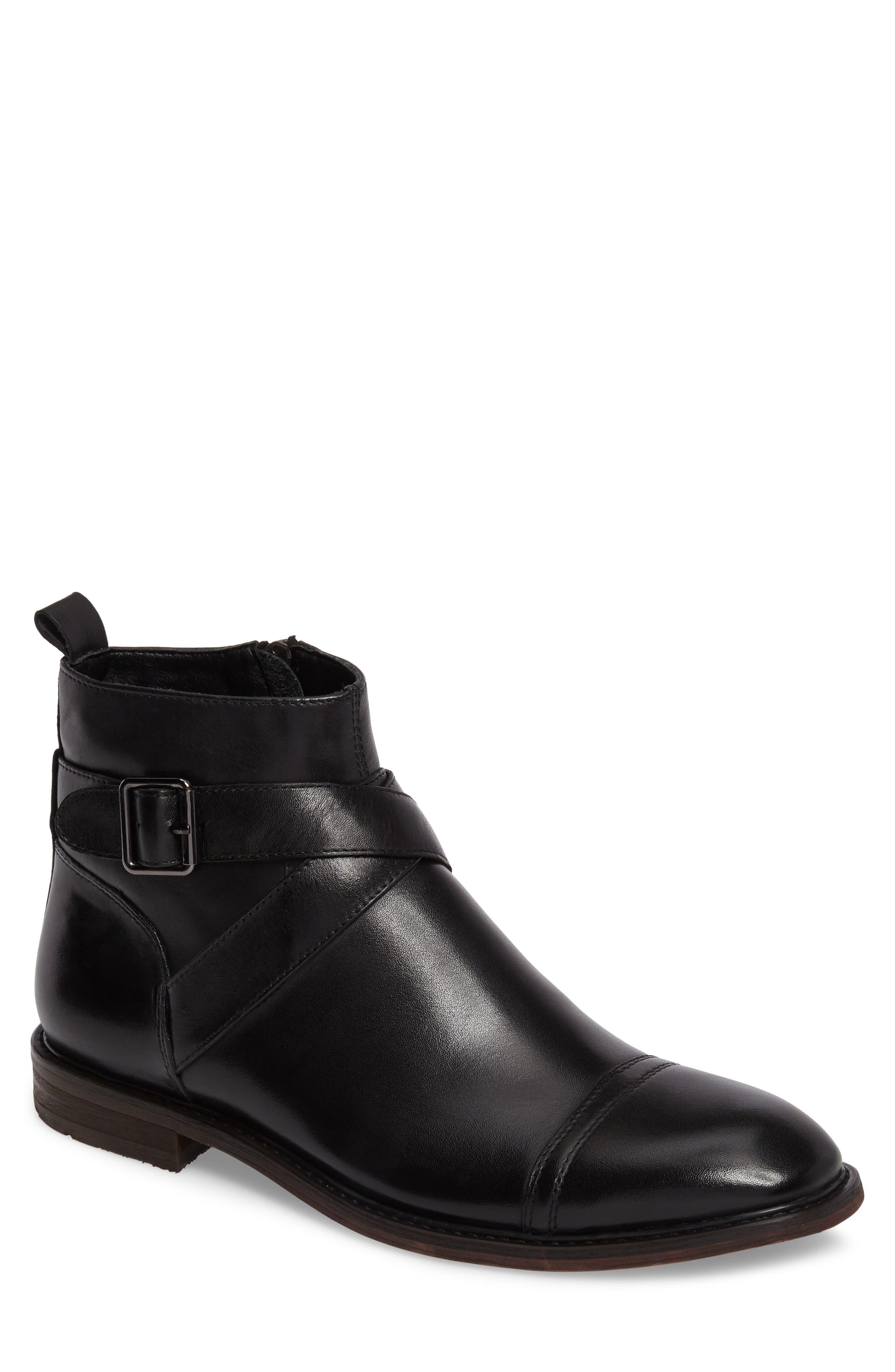 Edmond Zip Boot,                         Main,                         color, 001