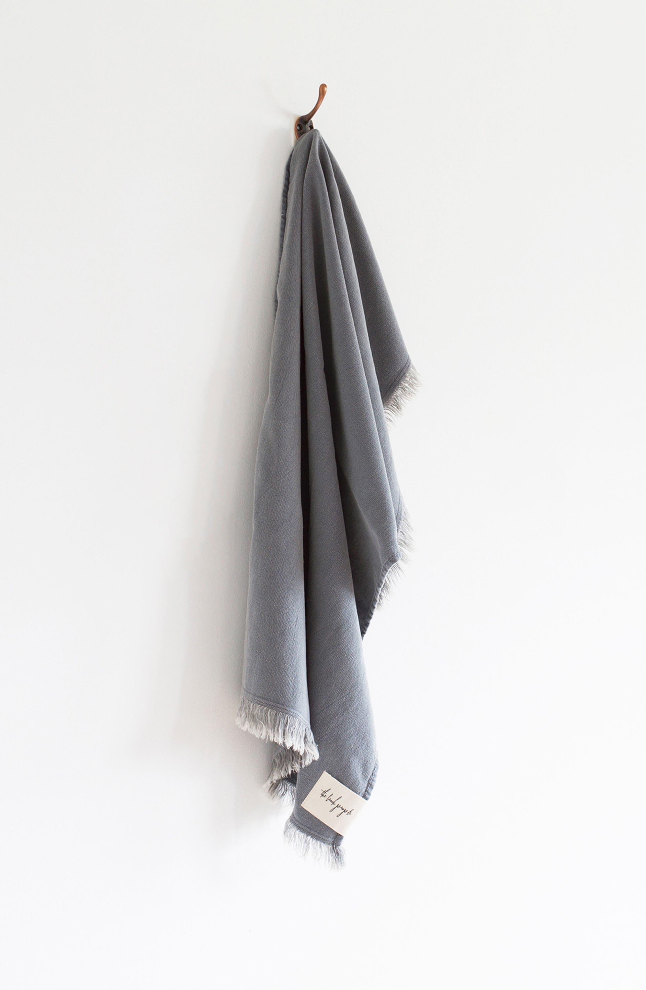 Stonewash Hand Towel,                         Main,                         color, 020