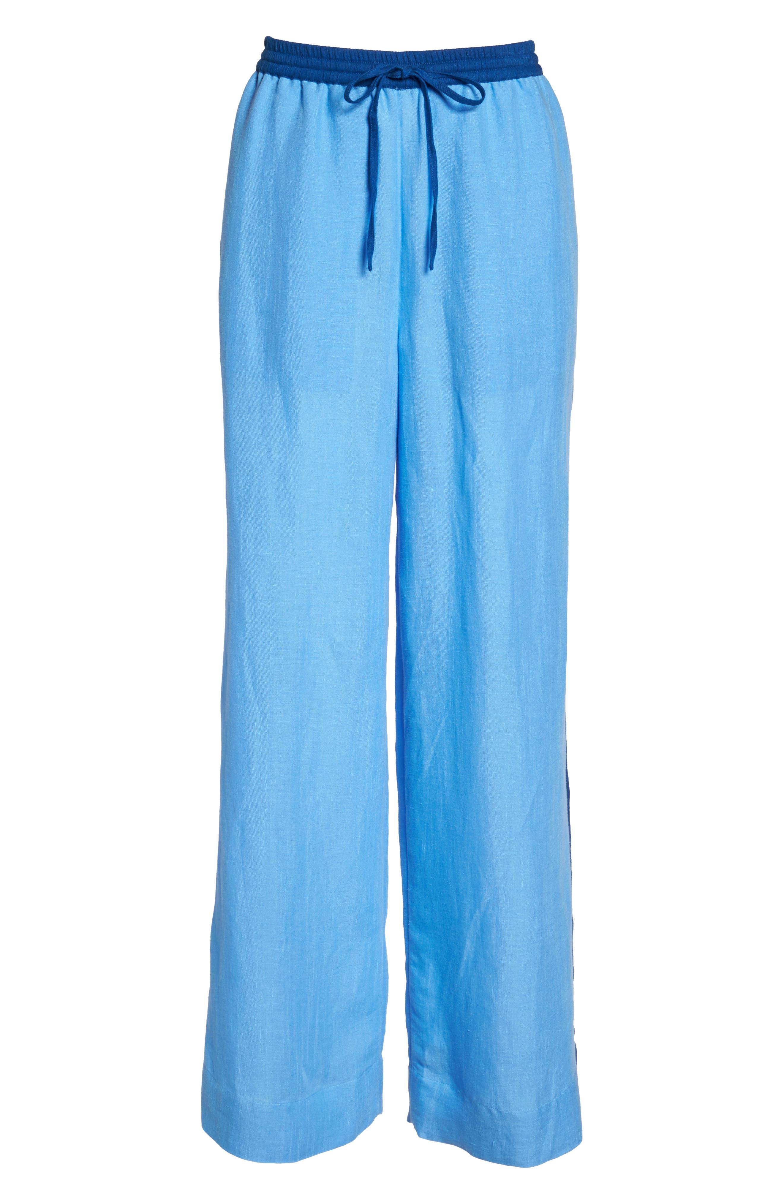 Cover-Up Wide Leg Pants,                             Alternate thumbnail 6, color,                             440