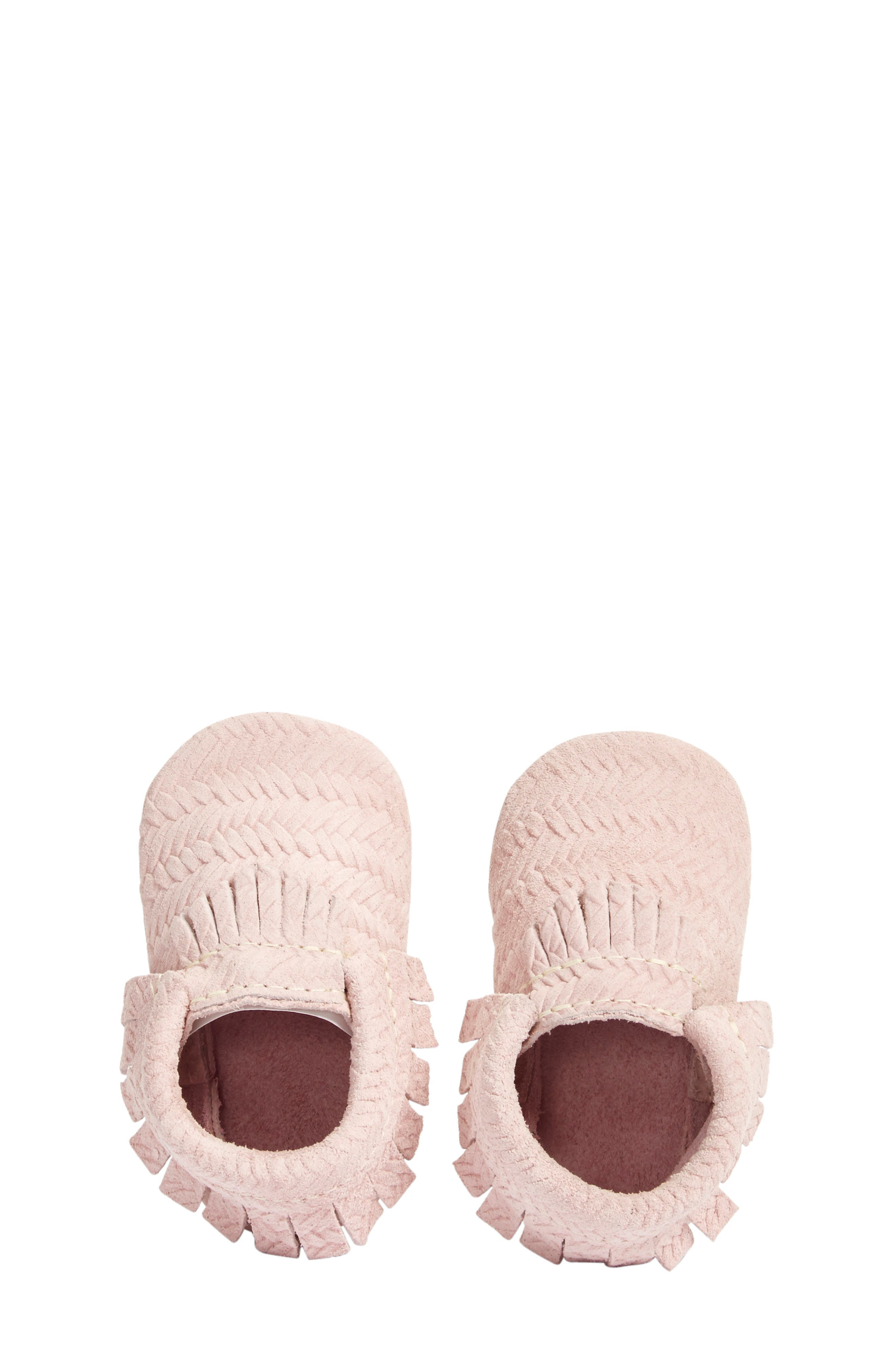 'Cardigan' Woven Leather Moccasin,                             Alternate thumbnail 2, color,                             680
