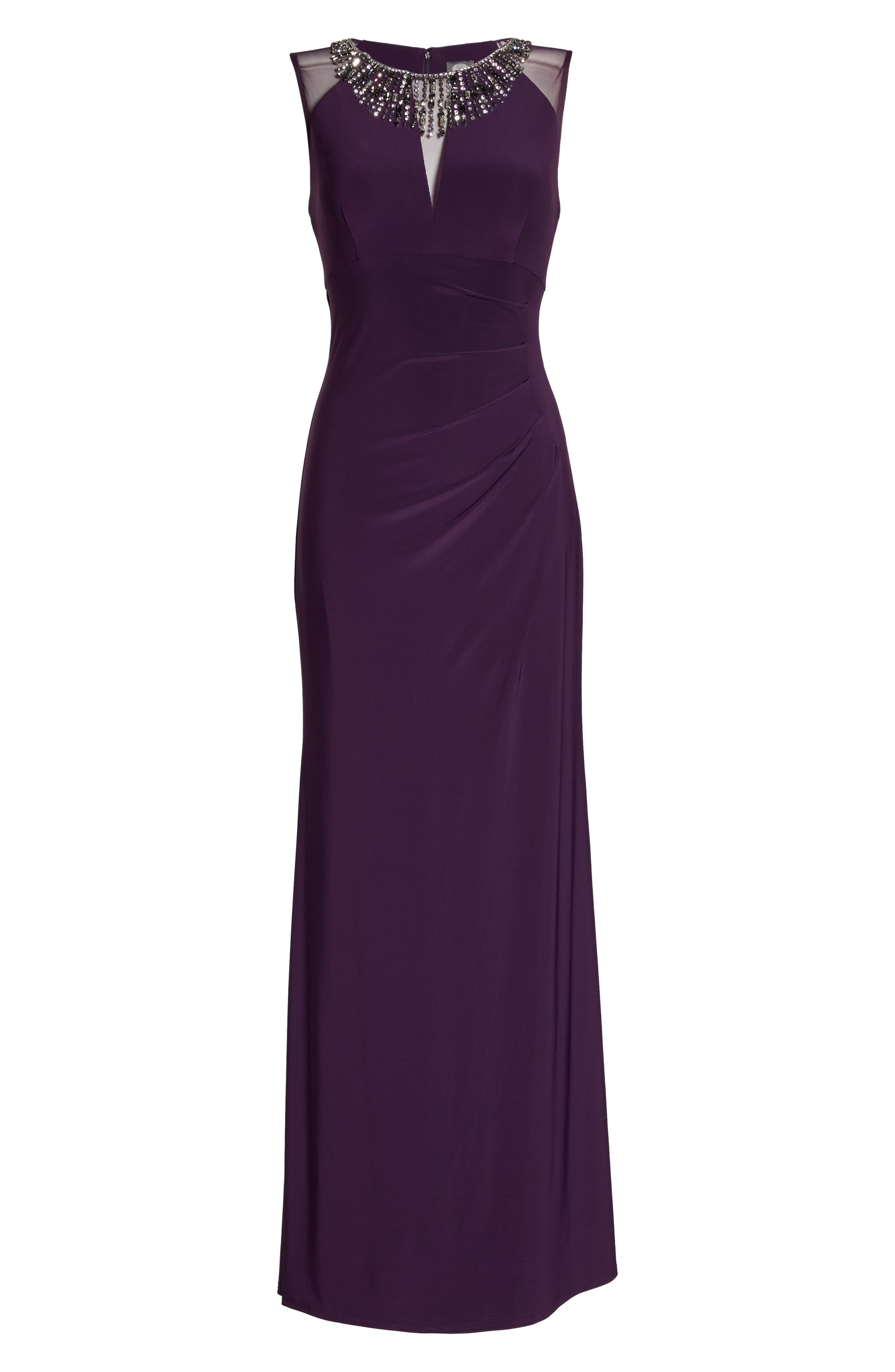 Embellished Gown,                             Alternate thumbnail 6, color,                             506
