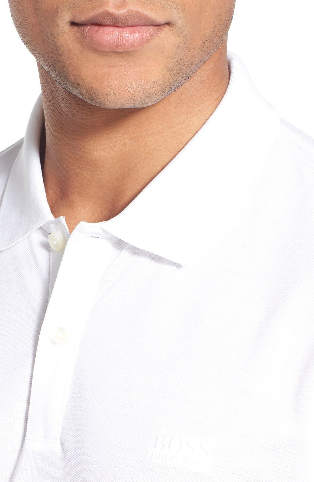 'Pallas' Regular Fit Logo Embroidered Polo Shirt,                             Alternate thumbnail 57, color,