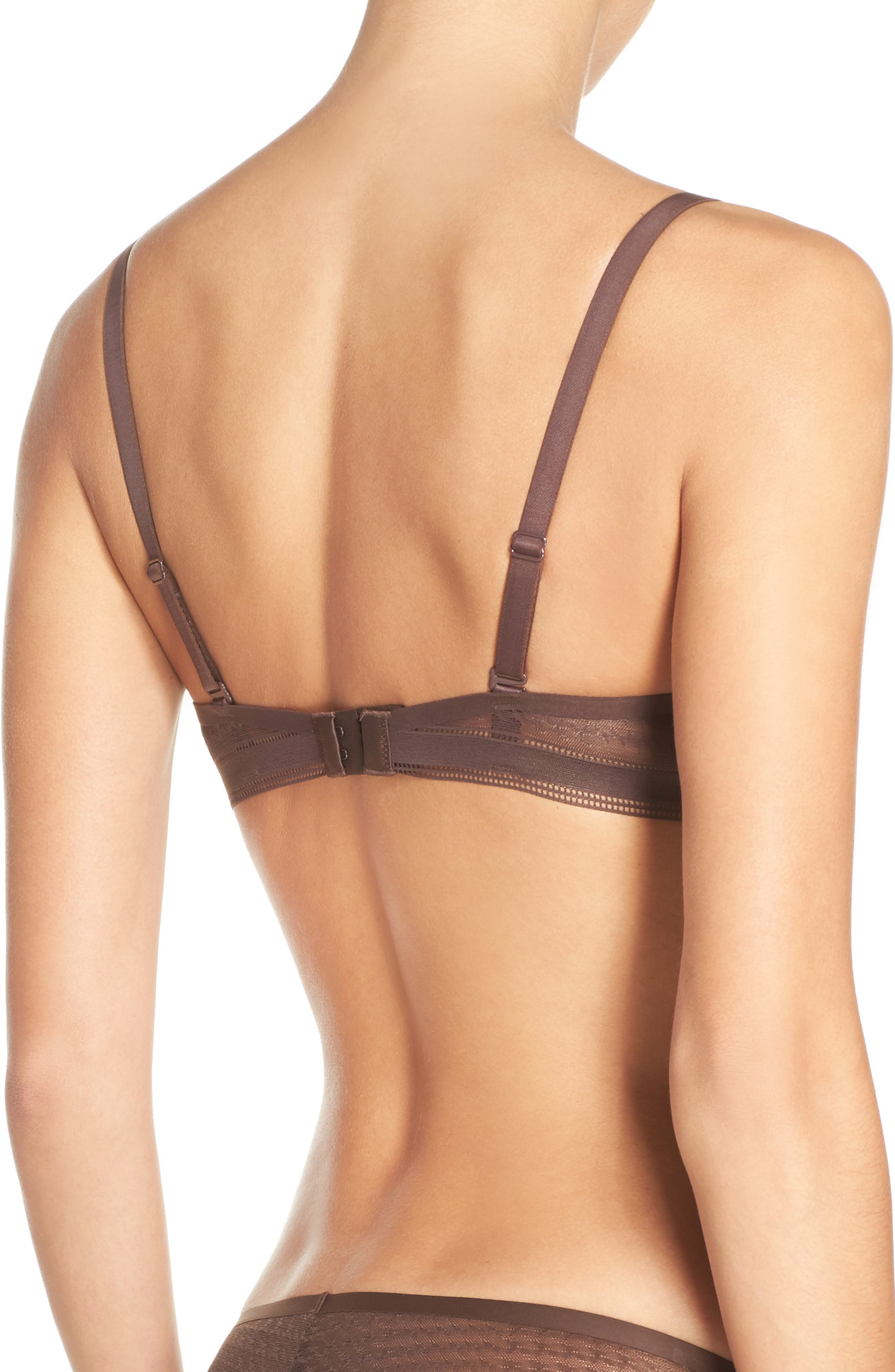 Muse Underwire Plunge Push-Up Bra,                             Alternate thumbnail 8, color,