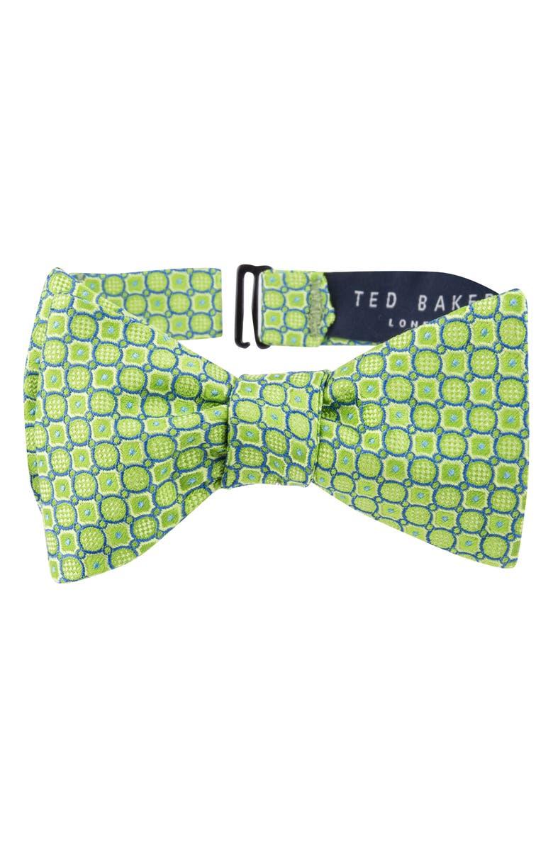 26597b1d9f895d Ted Baker London Geo Print Silk Bow Tie