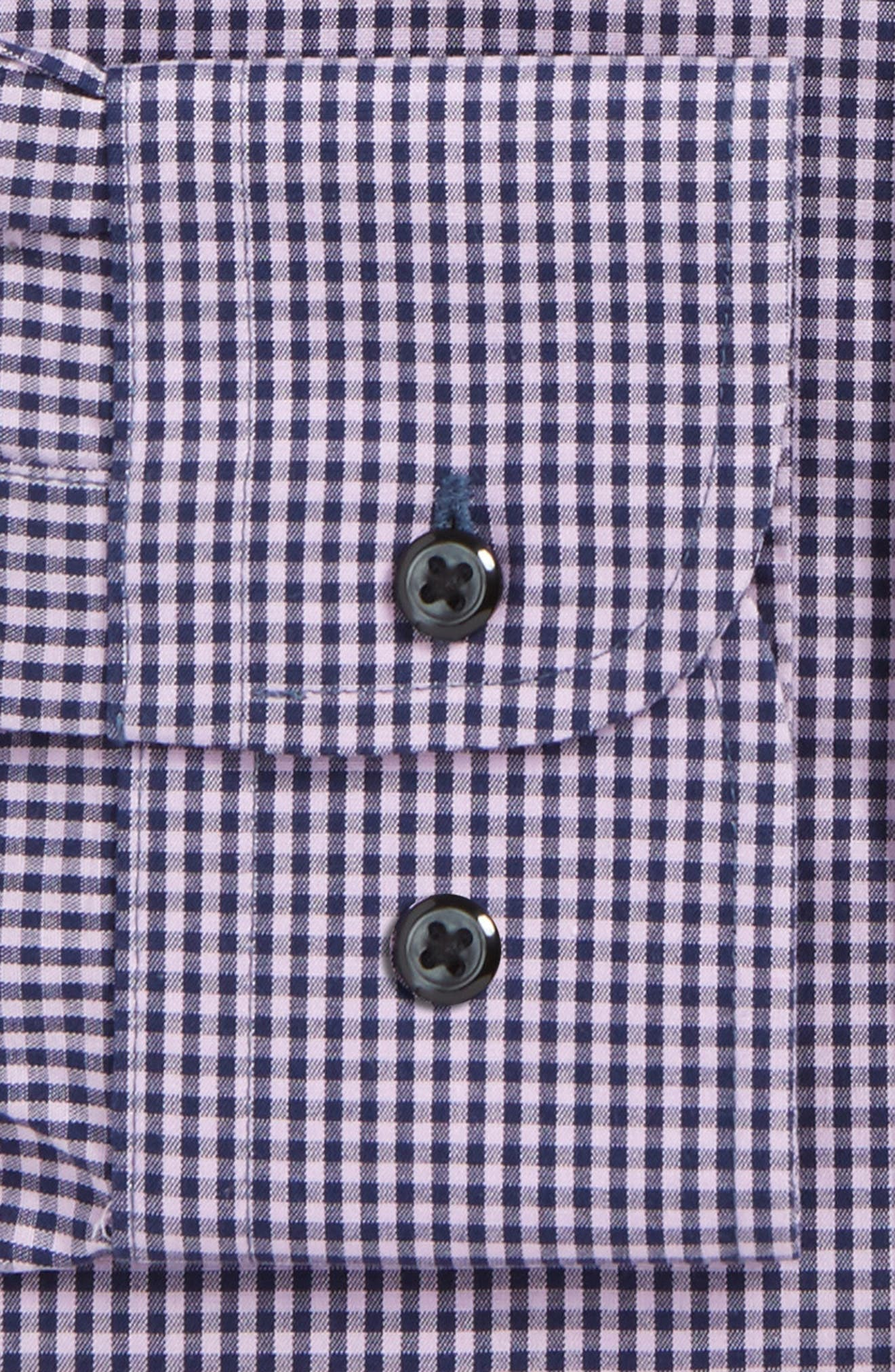 Smartcare<sup>™</sup> Traditional Fit Check Dress Shirt,                             Alternate thumbnail 7, color,