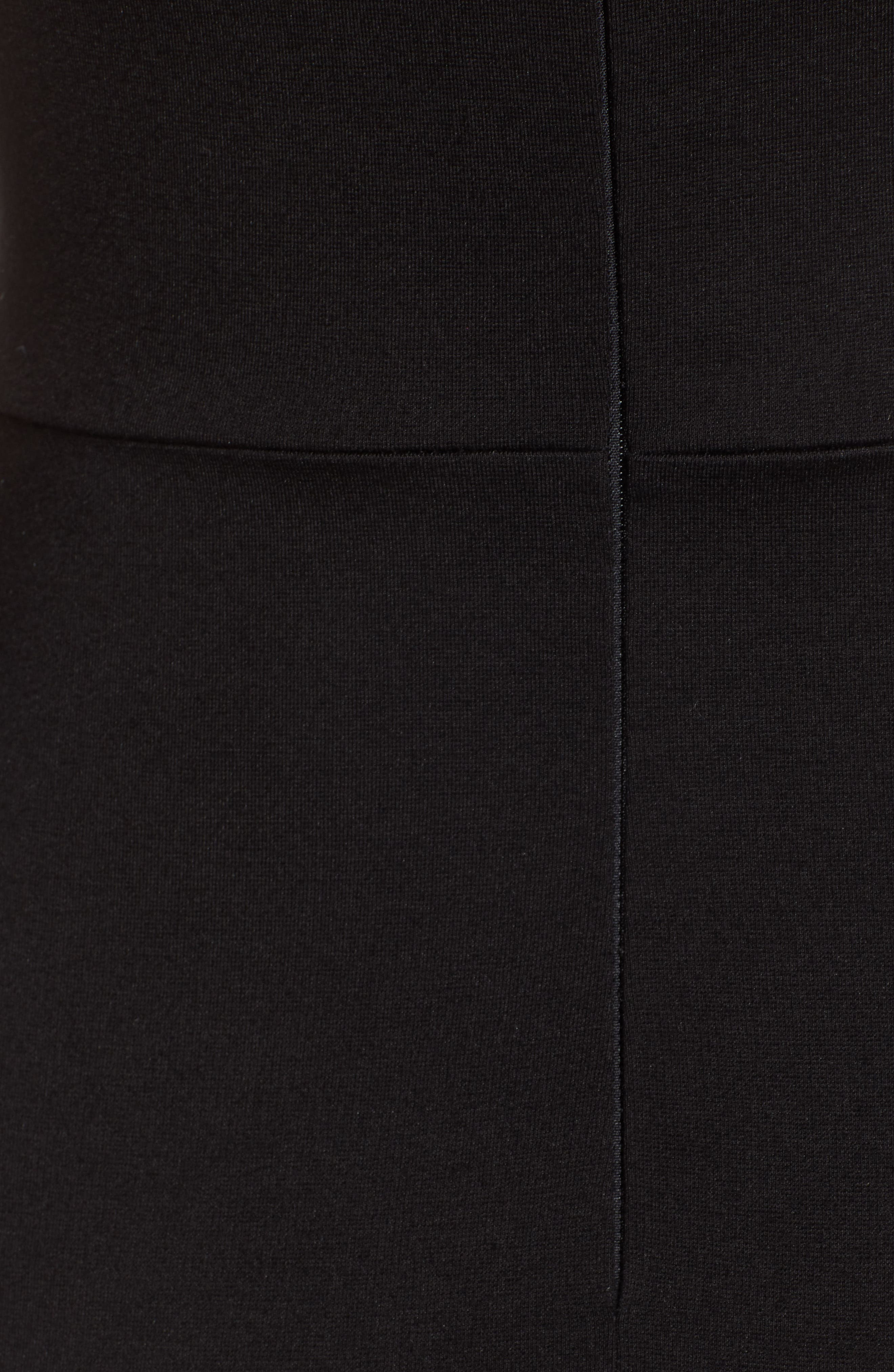 Body-Con Dress,                             Alternate thumbnail 6, color,                             001