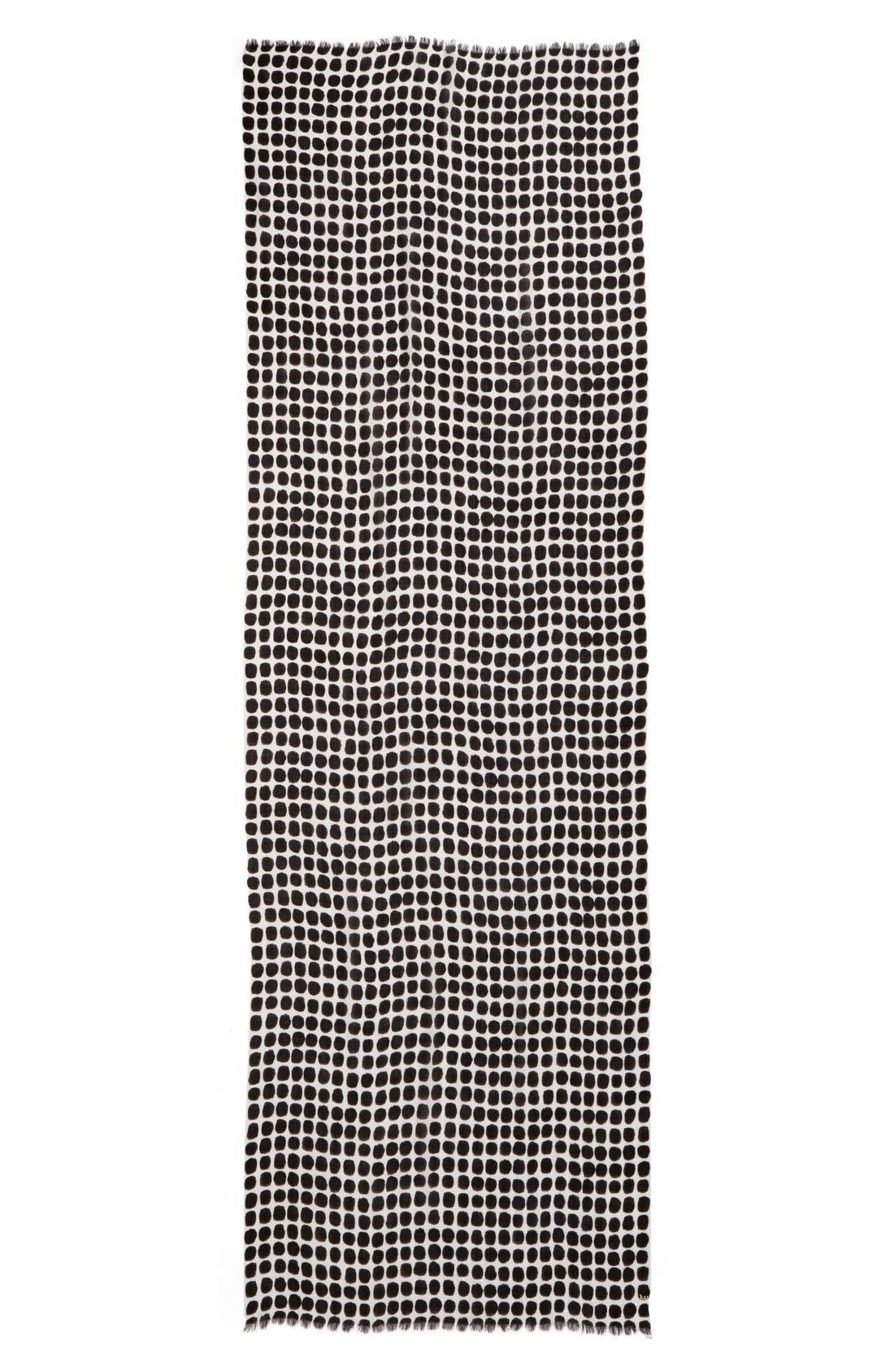 'seaglass dots' scarf,                             Alternate thumbnail 2, color,                             013