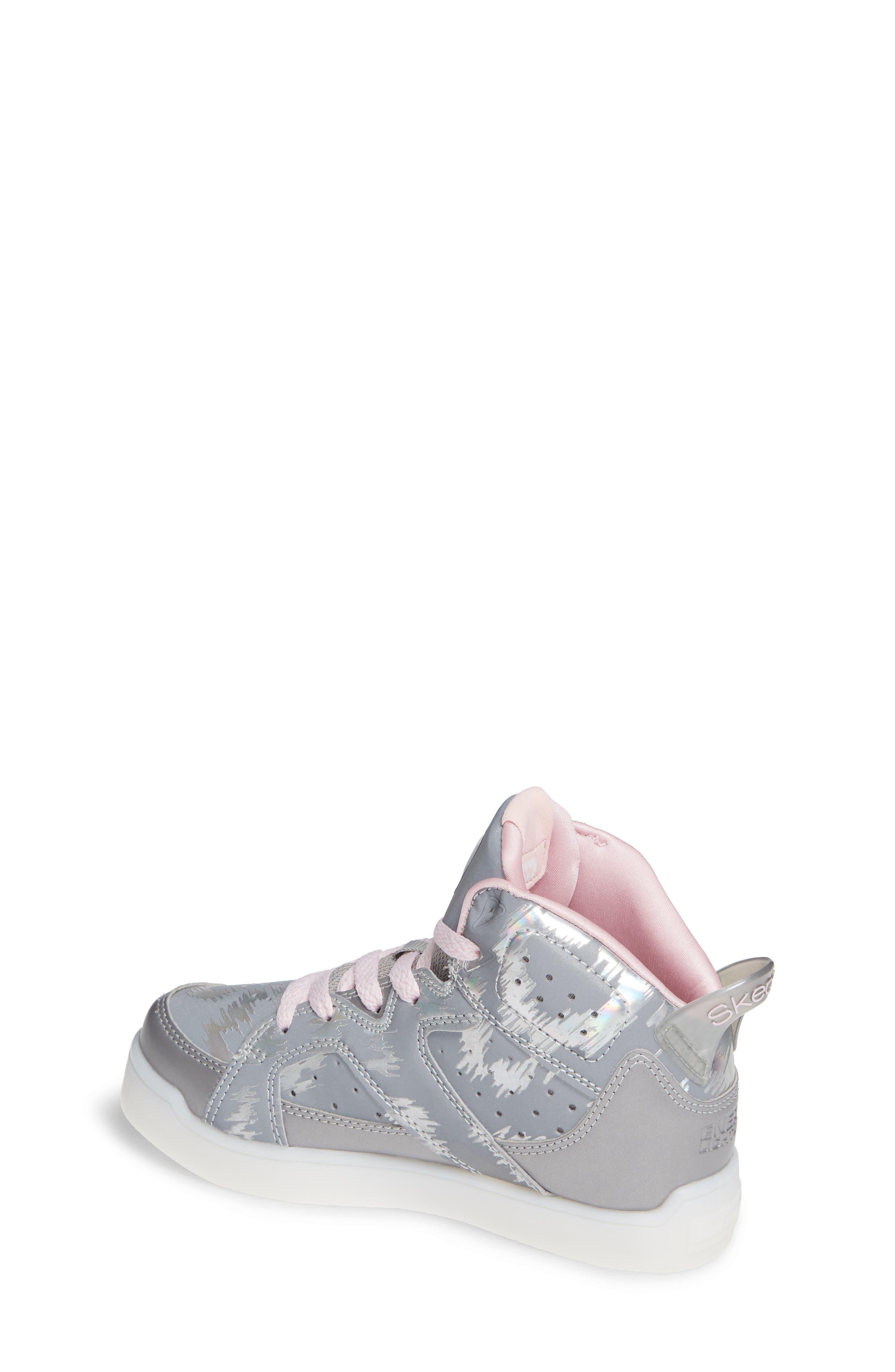 Energy Lights Pro Reflecti-Fab Sneaker,                             Alternate thumbnail 2, color,                             SILVER