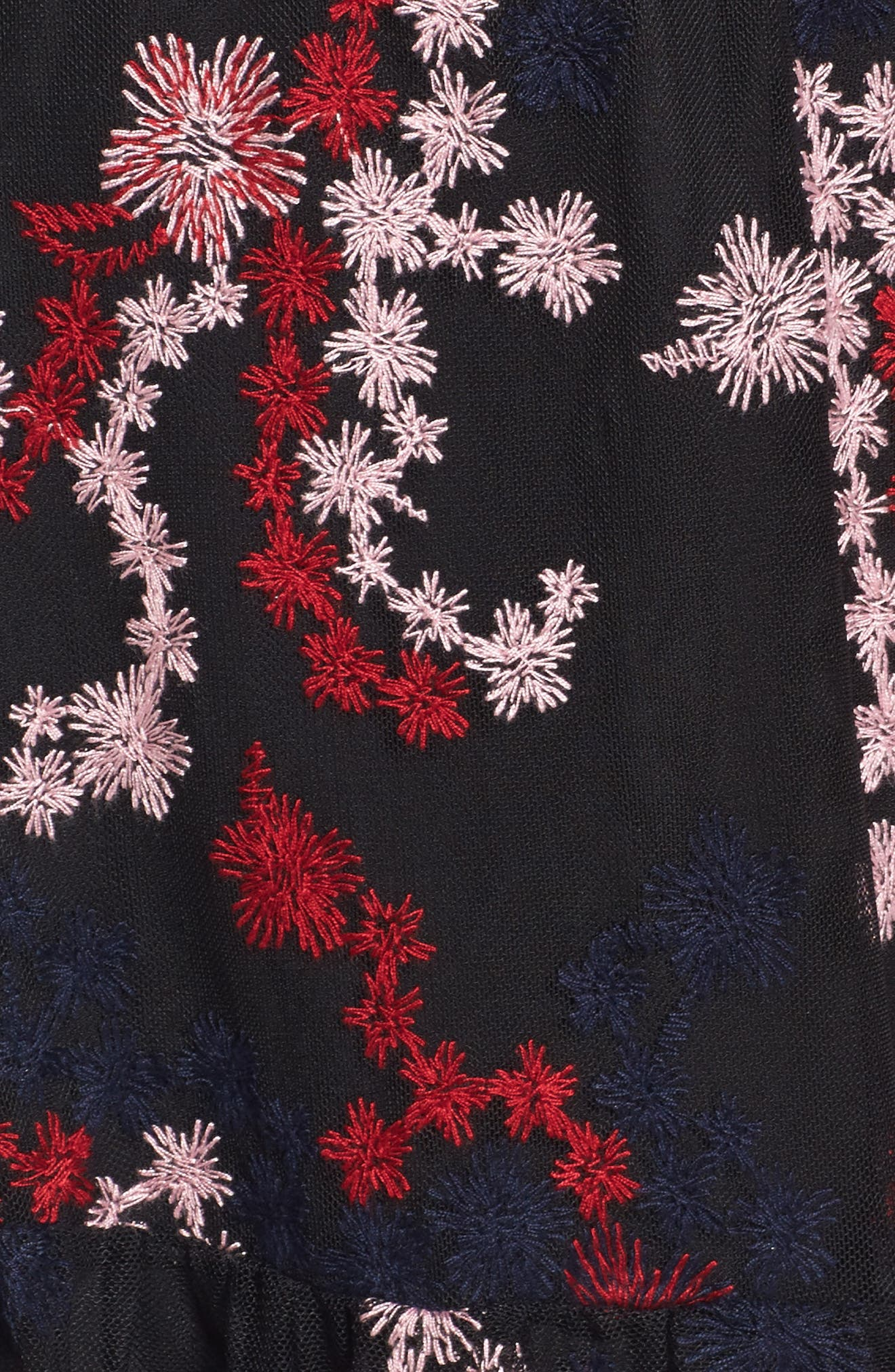 Irina One-Shoulder Blouson Dress,                             Alternate thumbnail 5, color,                             600