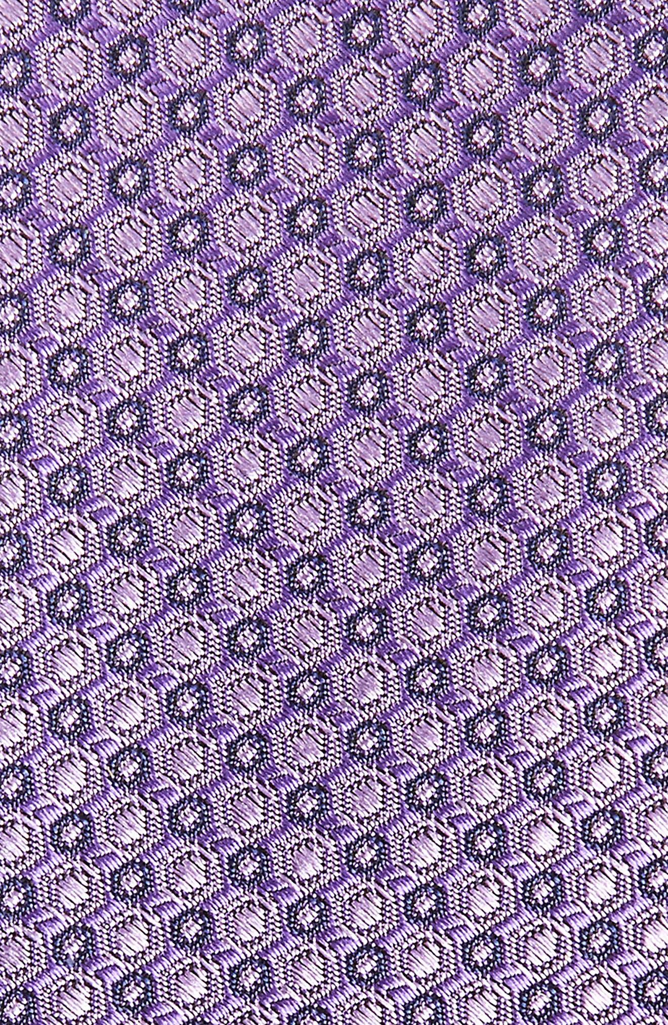 Optical Dot Silk Tie,                             Alternate thumbnail 7, color,