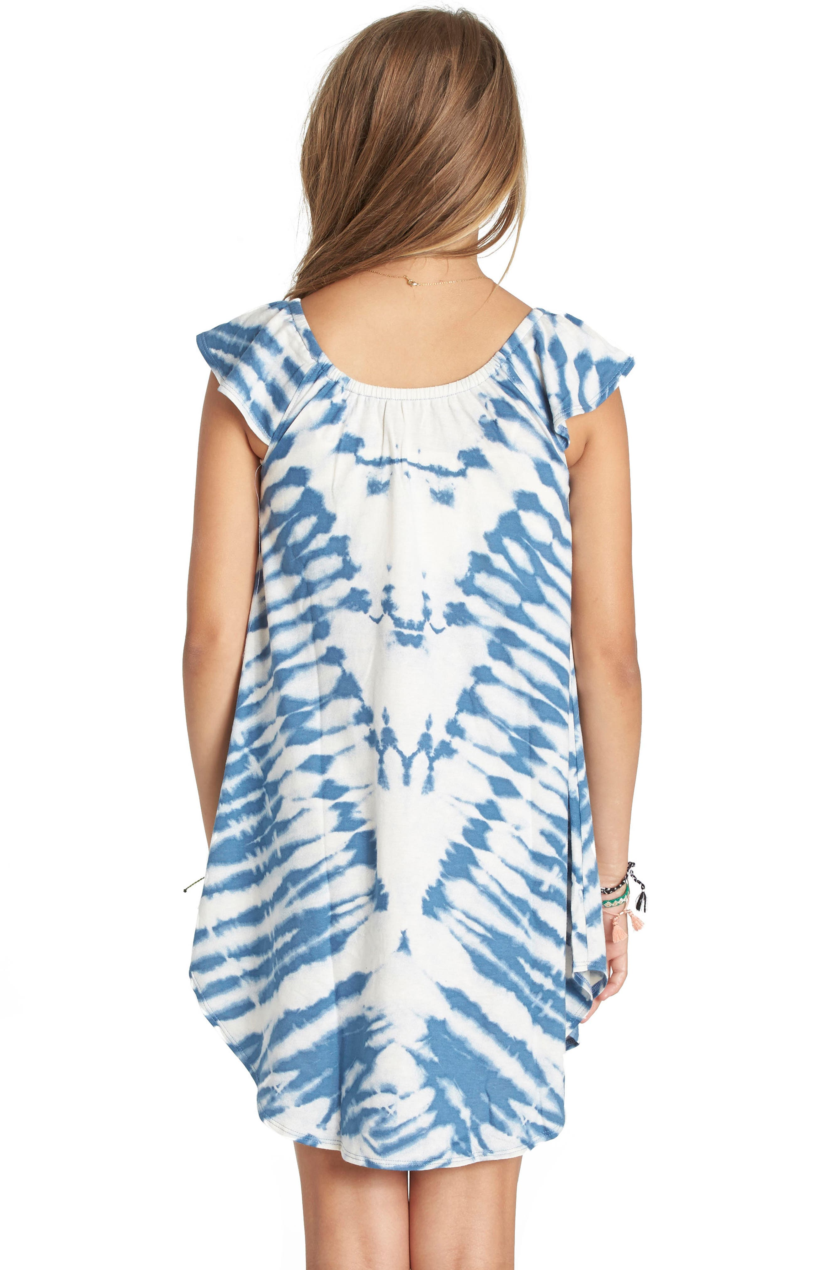 No Bad Vibes Tie Dye Dress,                         Main,                         color, 427