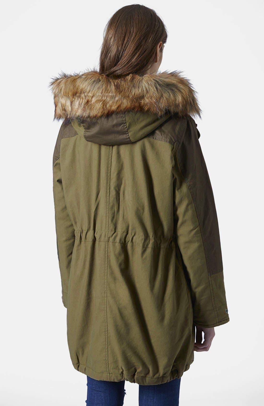 'Martha' Faux Fur Trim Parka,                             Alternate thumbnail 2, color,                             300