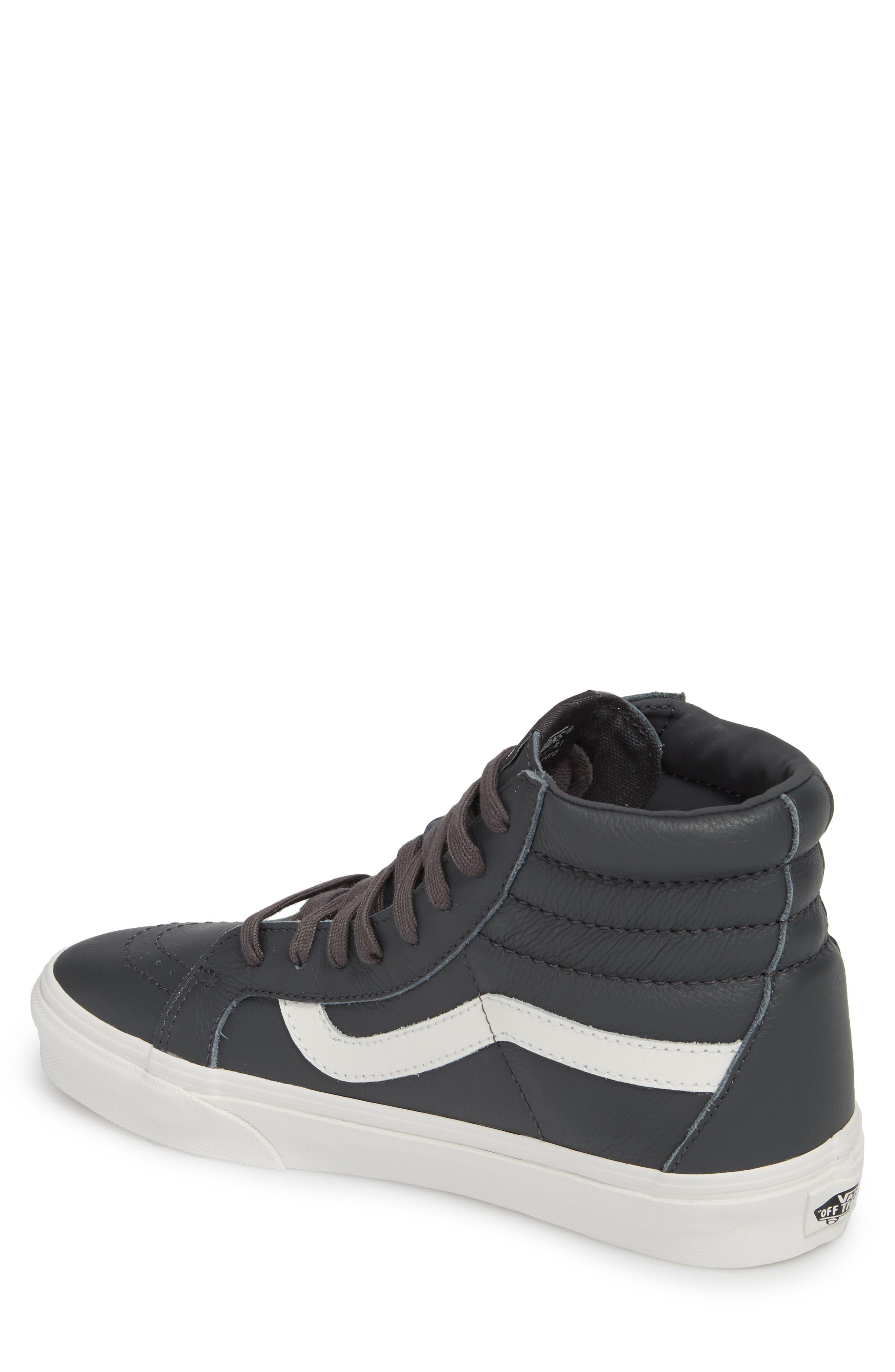 Sk8-Hi Reissue Leather Sneaker,                             Alternate thumbnail 2, color,                             020