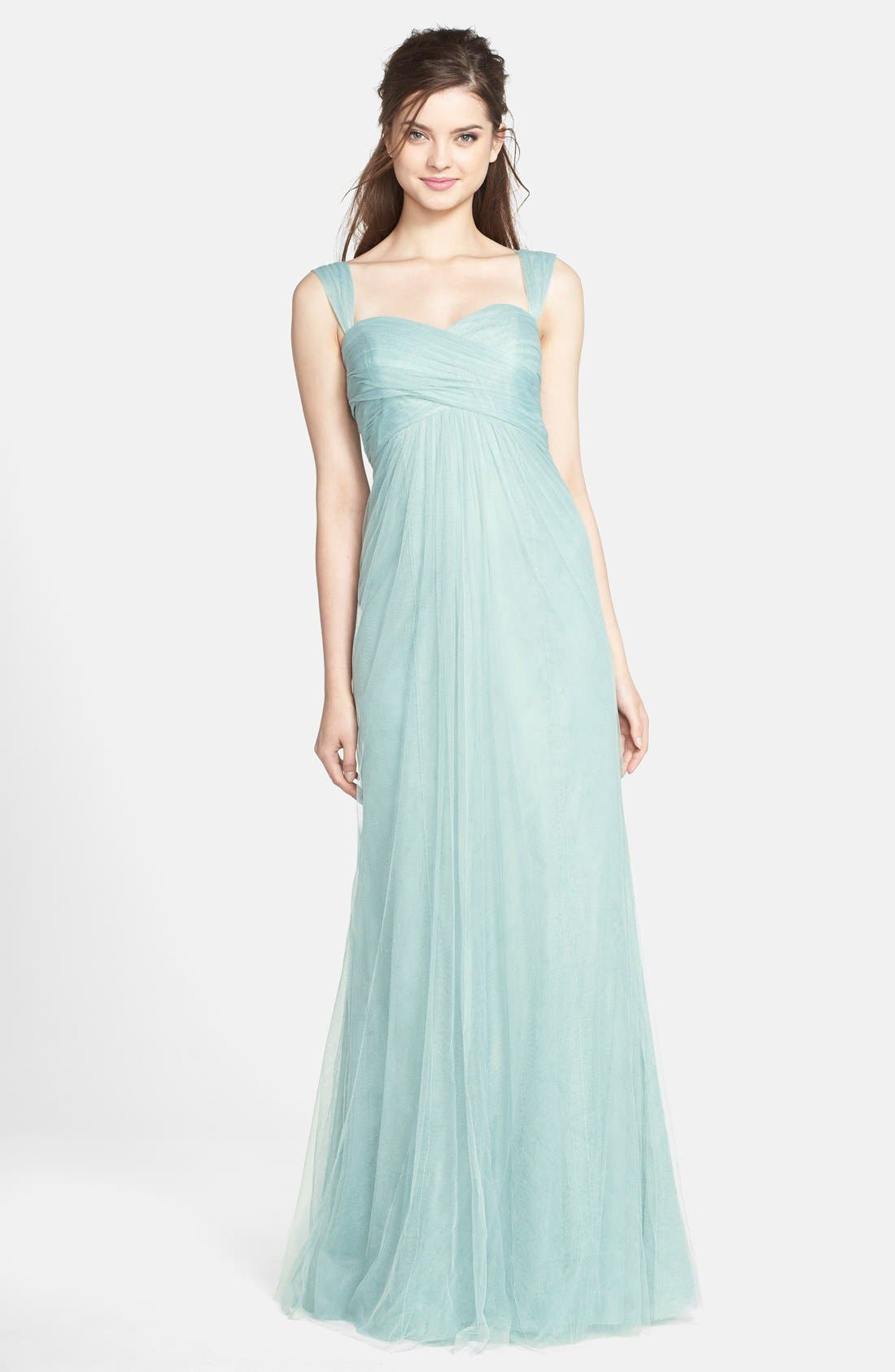 Willow Convertible Tulle Gown,                             Main thumbnail 1, color,                             455